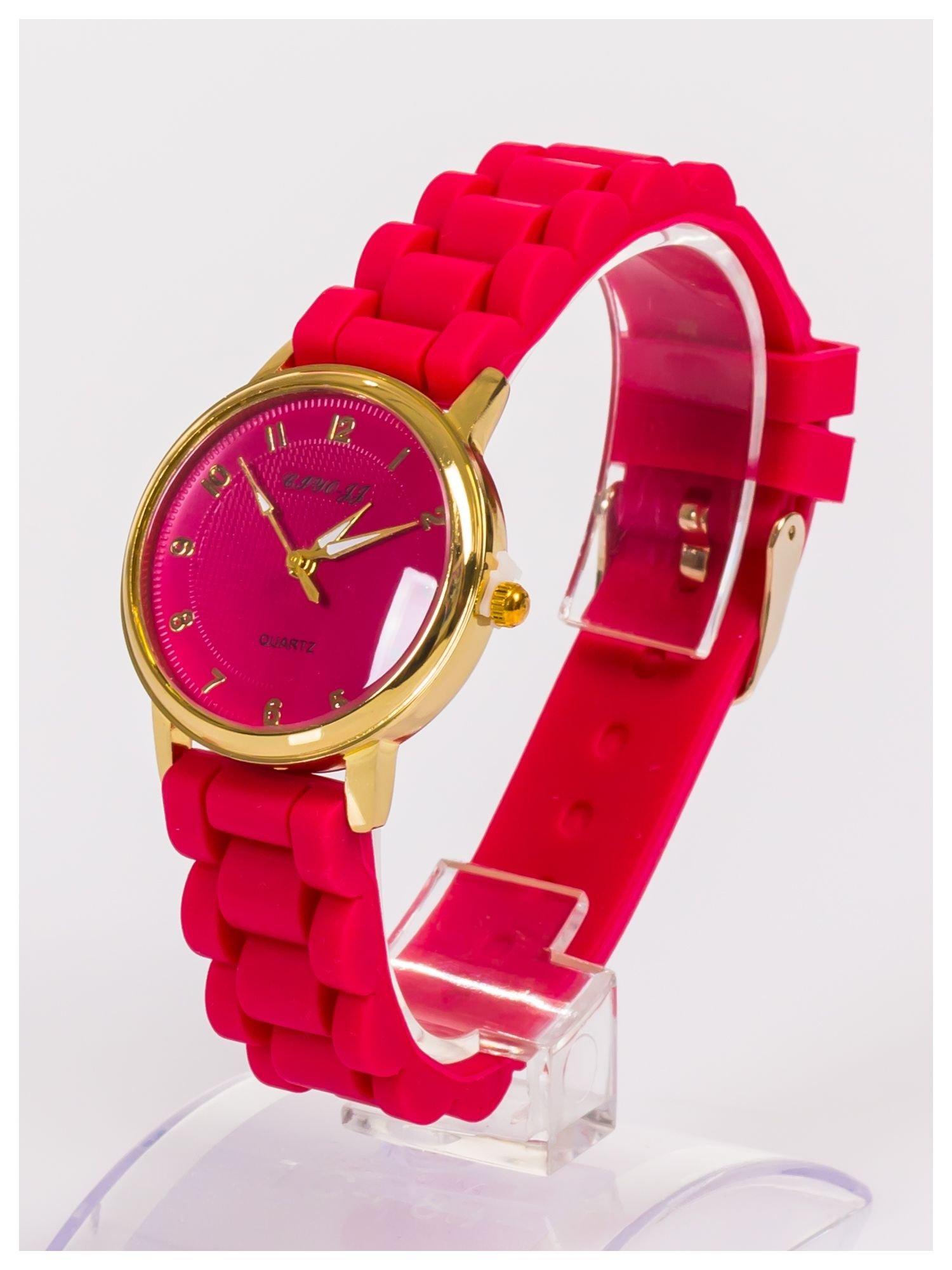 Klasyczny damski zegarek na wygodnym silikonowym pasku                                  zdj.                                  2