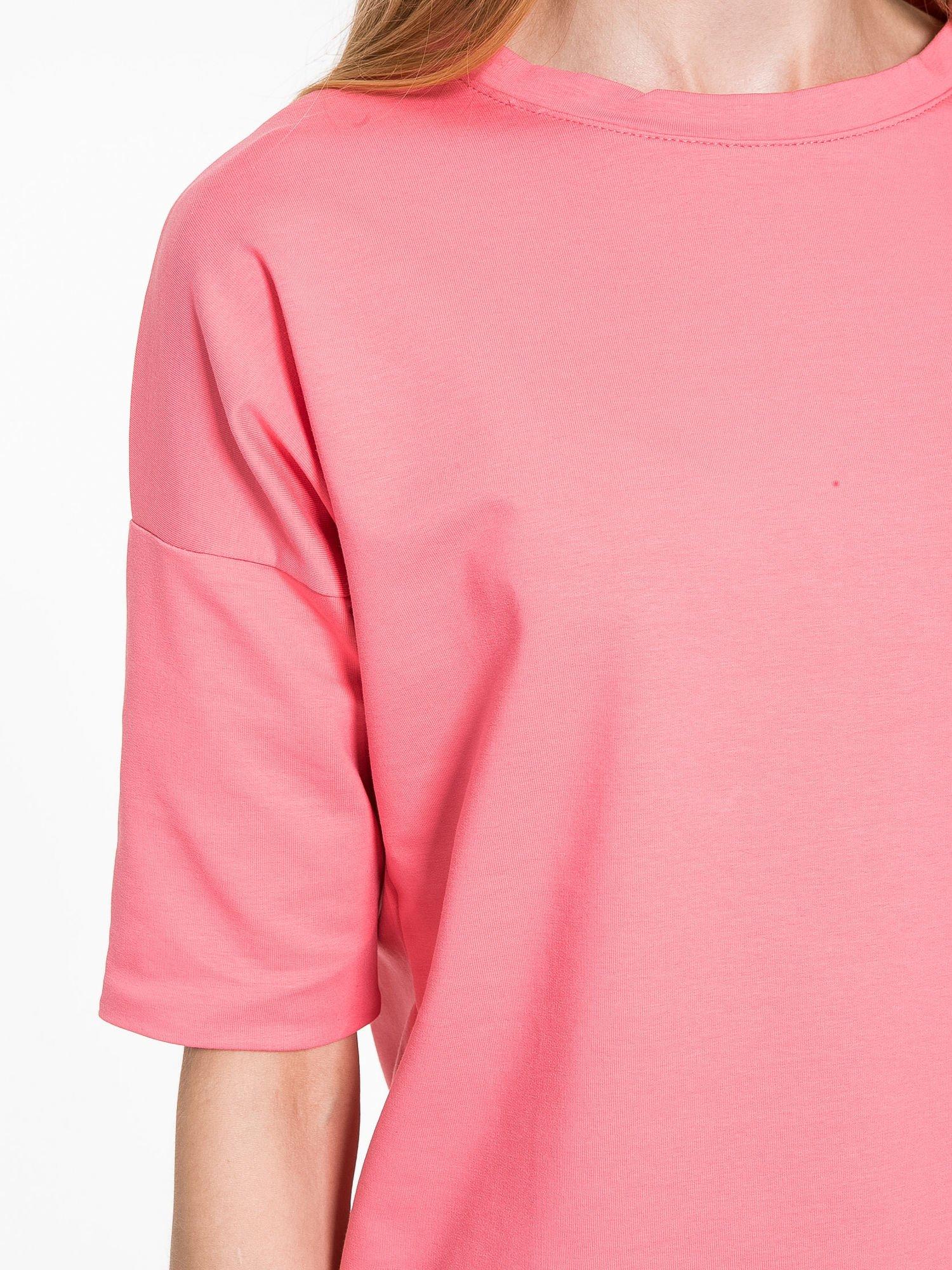 Koralowa bluza z suwakiem z tyłu                                  zdj.                                  7
