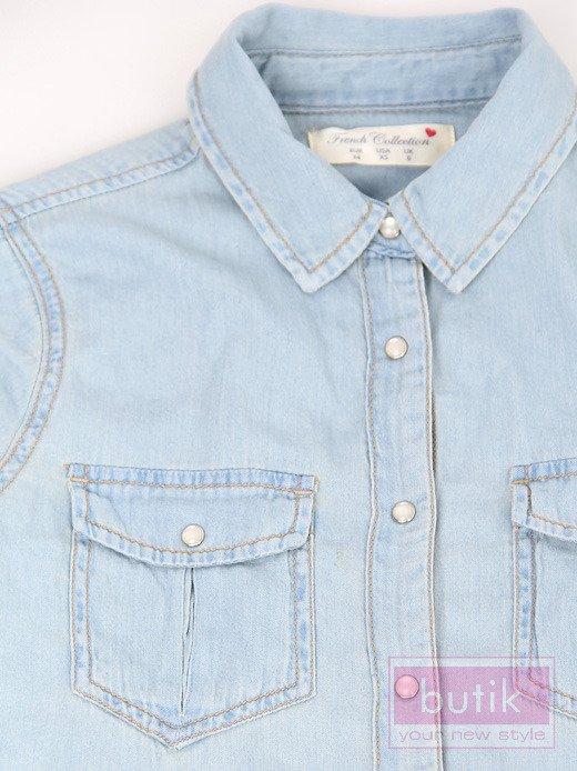 Koszula jeansowa                                   zdj.                                  3