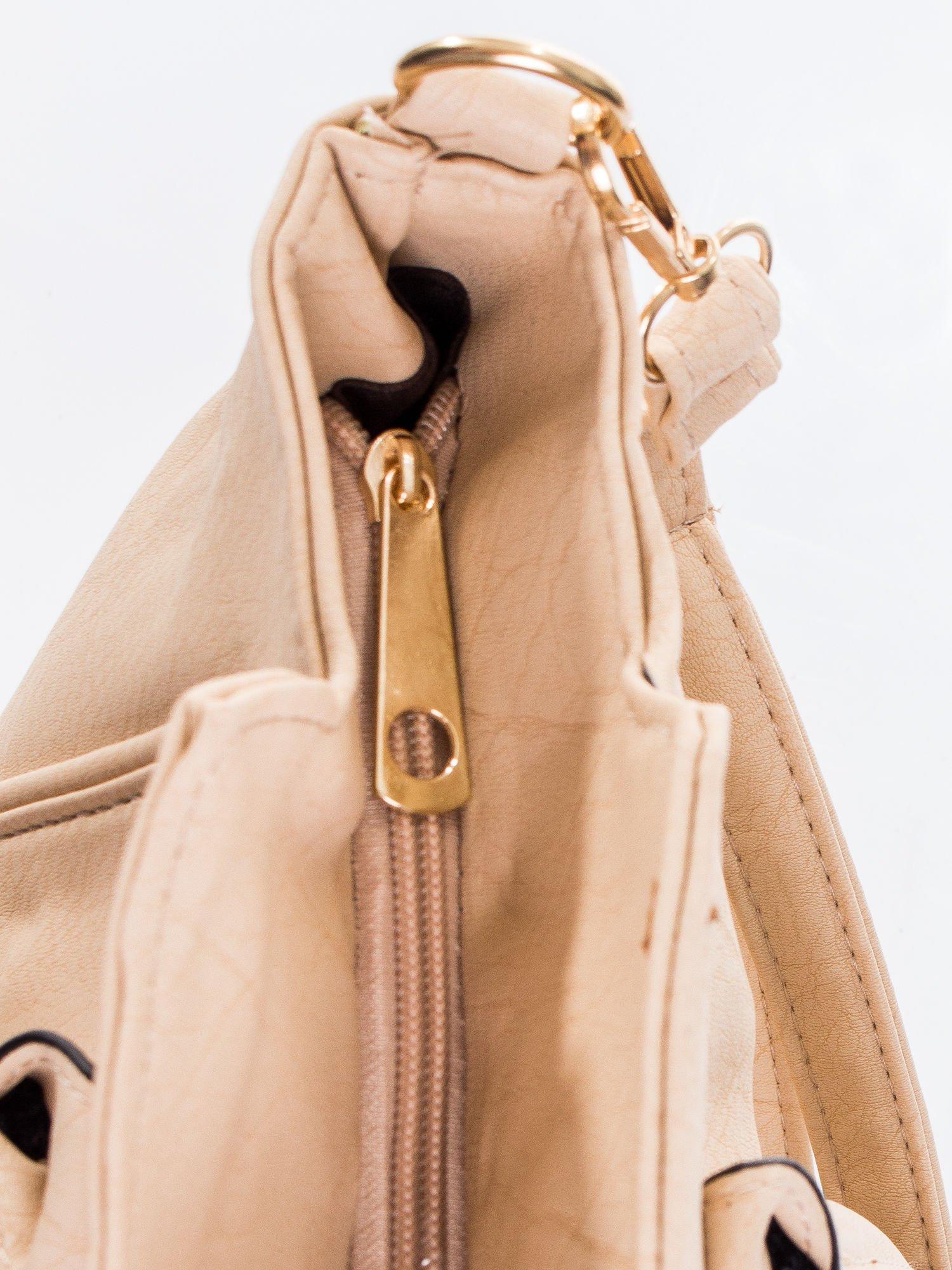Kremowa torba shopper bag                                  zdj.                                  9