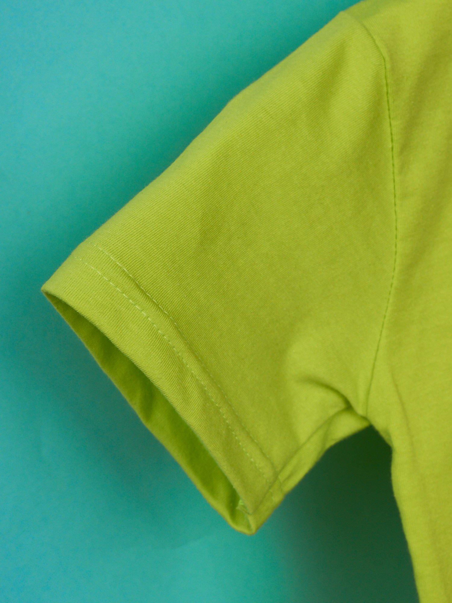 Limonkowy t-shirt chłopięcy z nadrukiem MUPPETY                                  zdj.                                  6