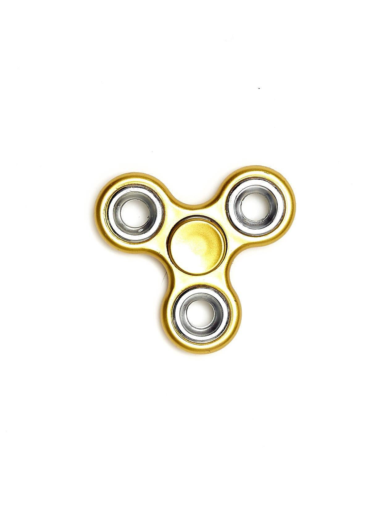 Metalowy matowy hand fidget spinner złoty - Dziecko Ozdoby dziecięce ... b777e554ef