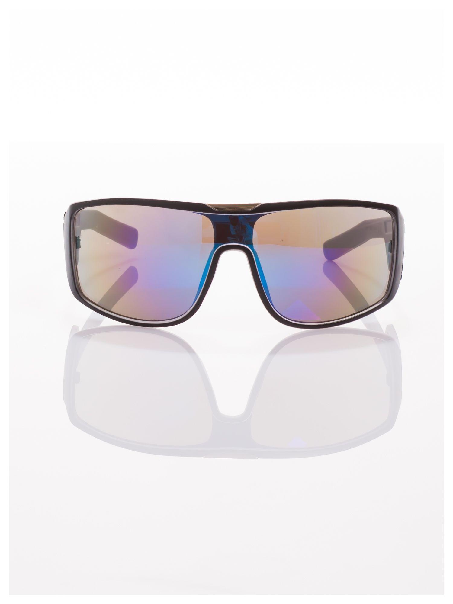Modne męskie okulary przeciwsłoneczne w stylu Beckhamki                                   zdj.                                  3