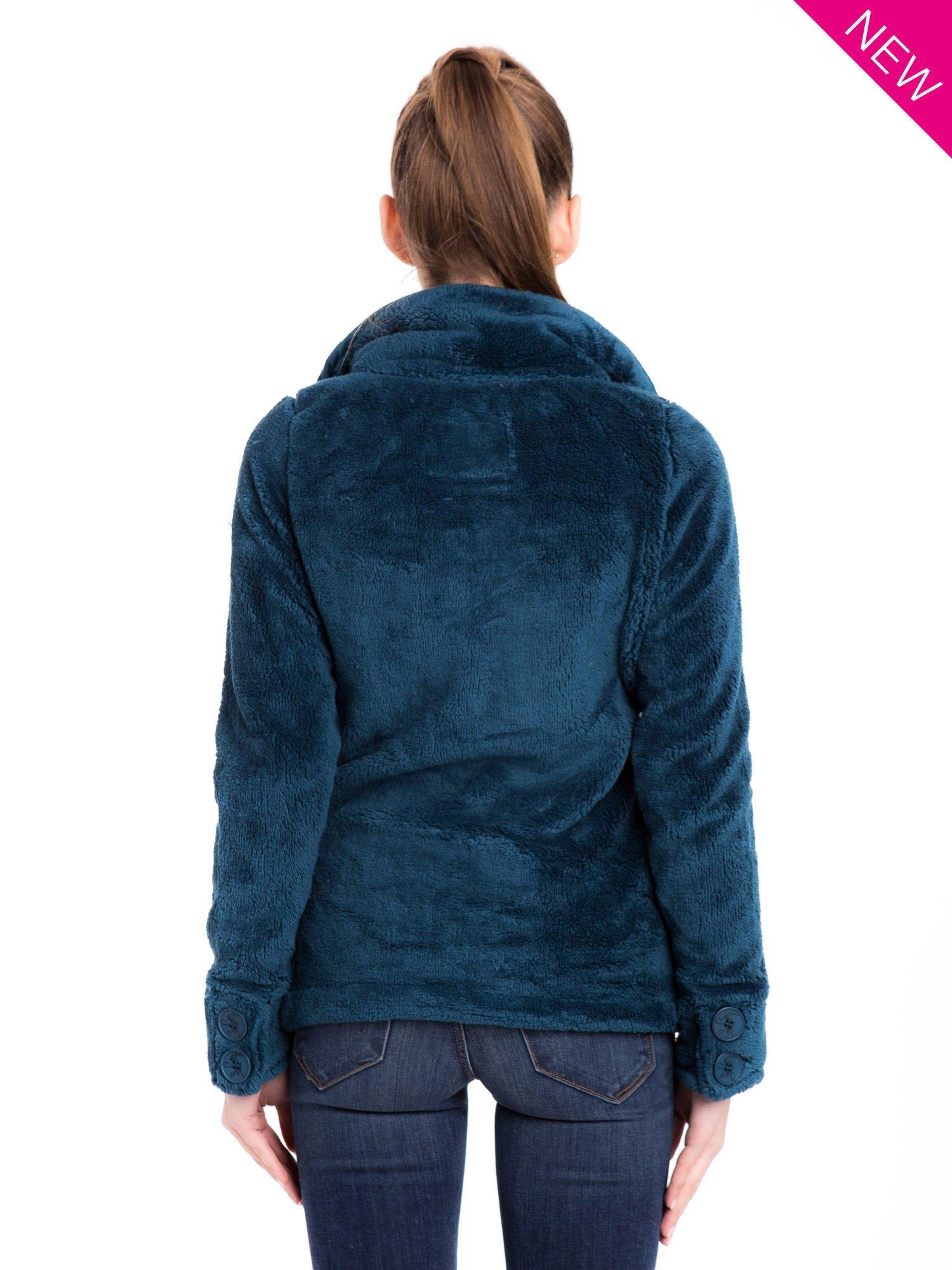 Morski bluza pluszowa z wysokim kołnierzem                                  zdj.                                  3