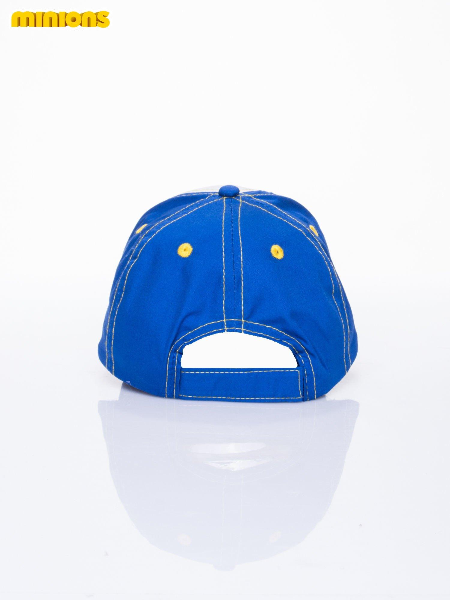 Niebieska chłopięca czapka z daszkiem MINIONKI                                  zdj.                                  3