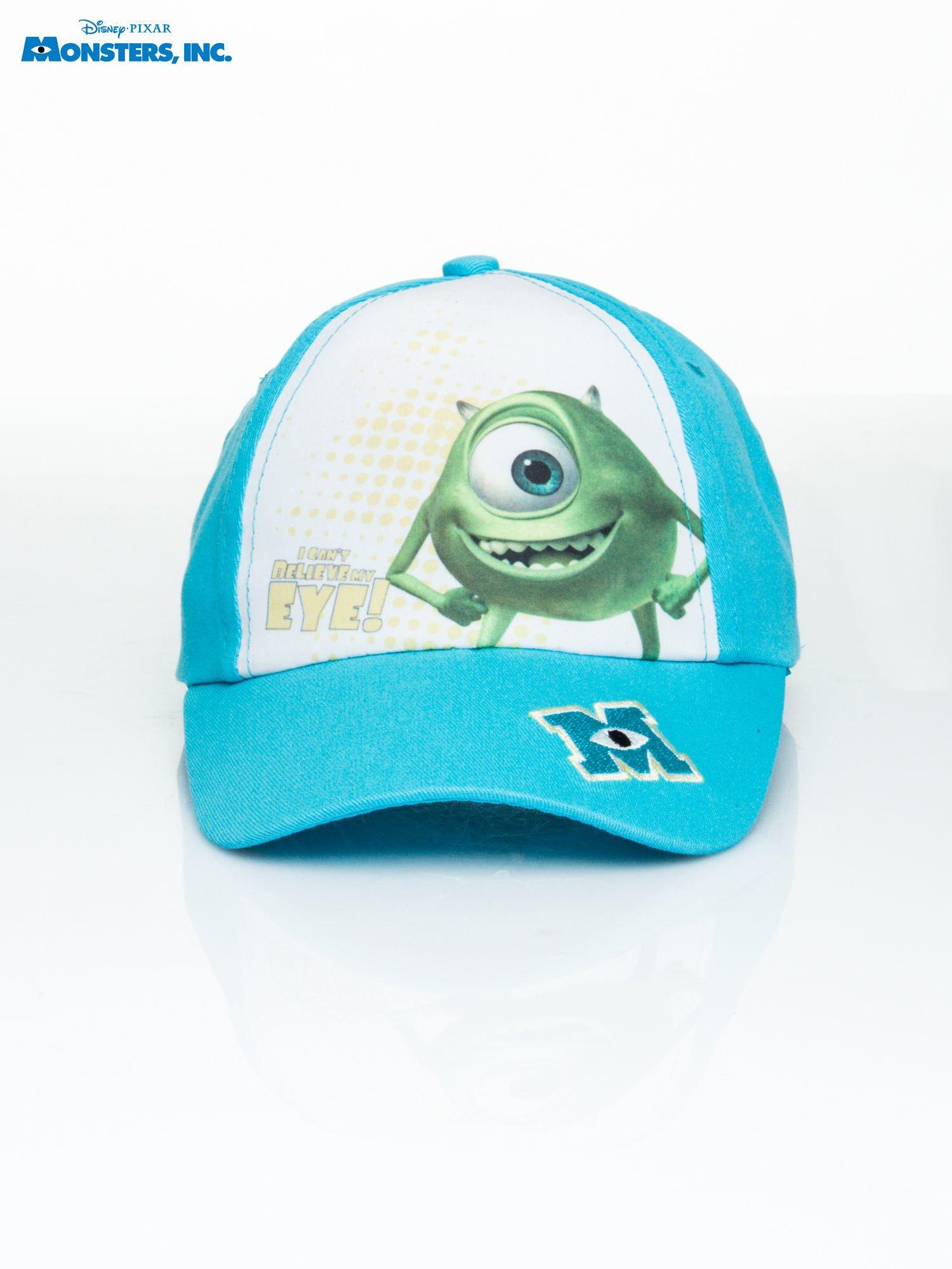Niebieska chłopięca czapka z daszkiem POTWORY I SPÓŁKA                                  zdj.                                  1
