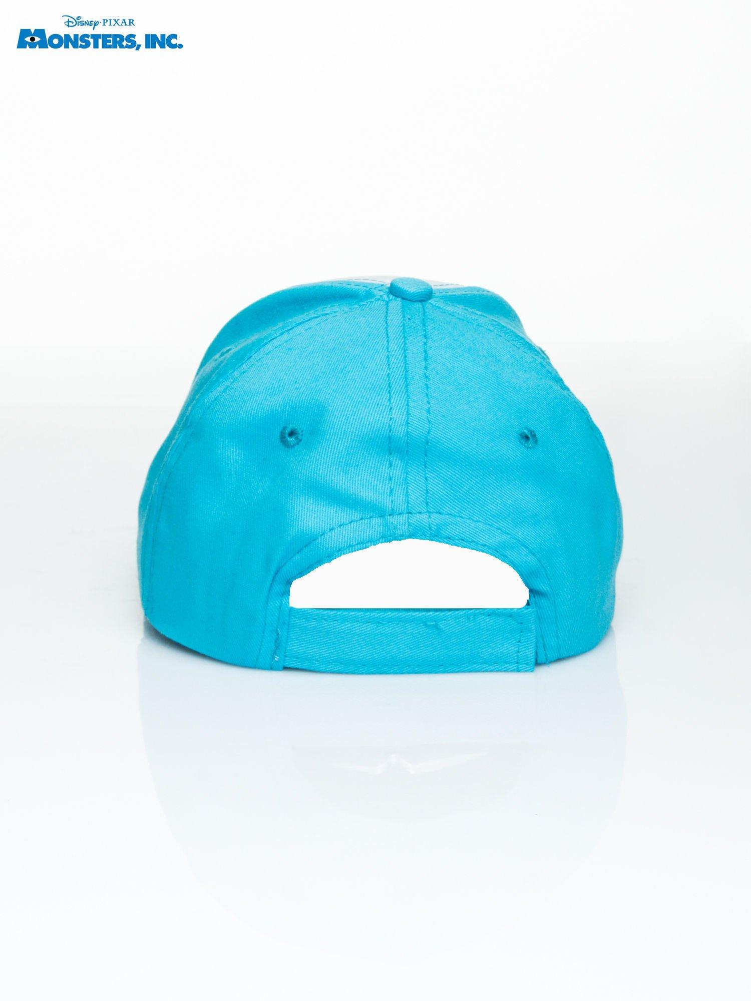 Niebieska chłopięca czapka z daszkiem POTWORY I SPÓŁKA                                  zdj.                                  3