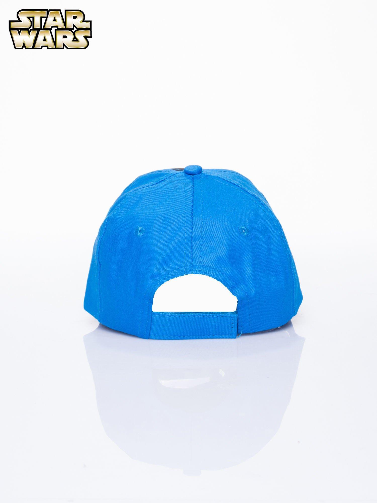 Niebieska chłopięca czapka z daszkiem STAR WARS                                  zdj.                                  3