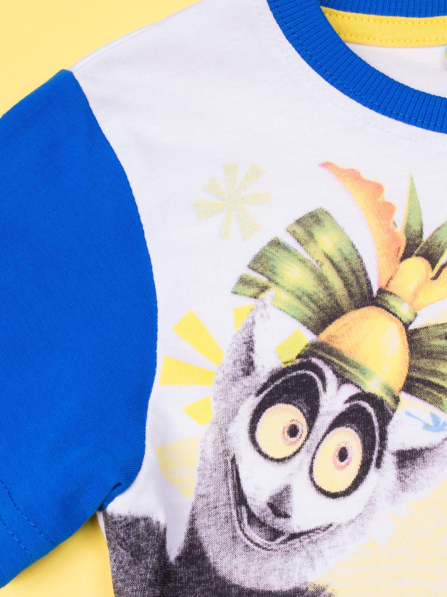 Niebieska piżama chłopięca KRÓL JULIAN                                  zdj.                                  6