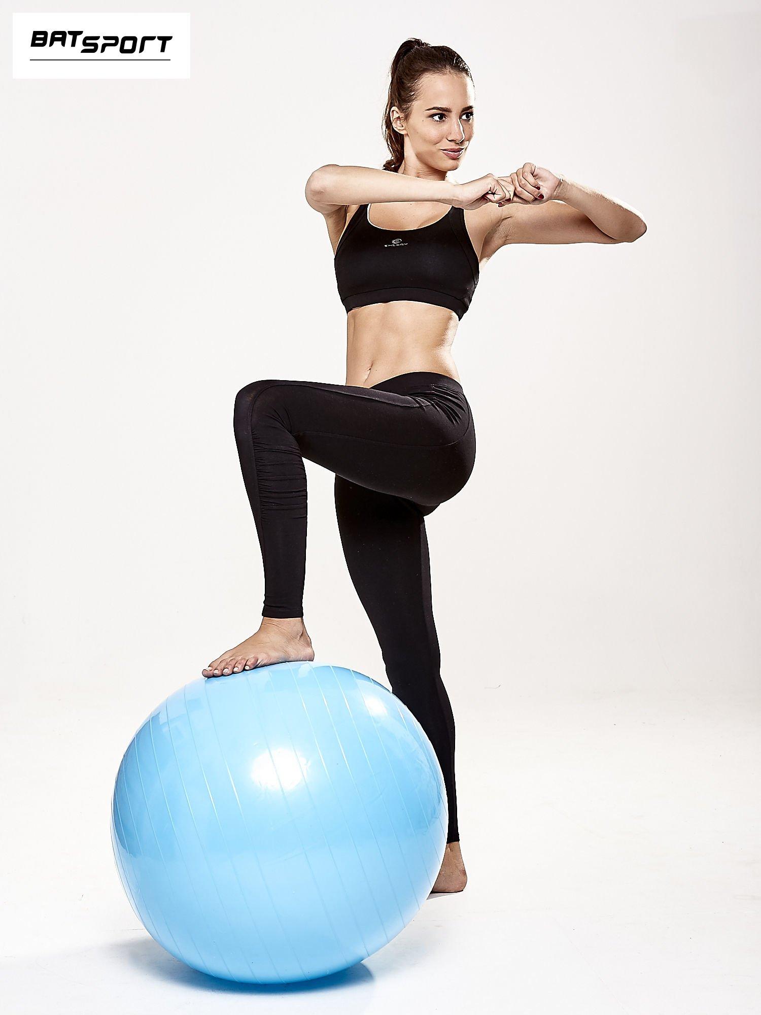 Niebieska średnia piłka do fitnessu                                  zdj.                                  2
