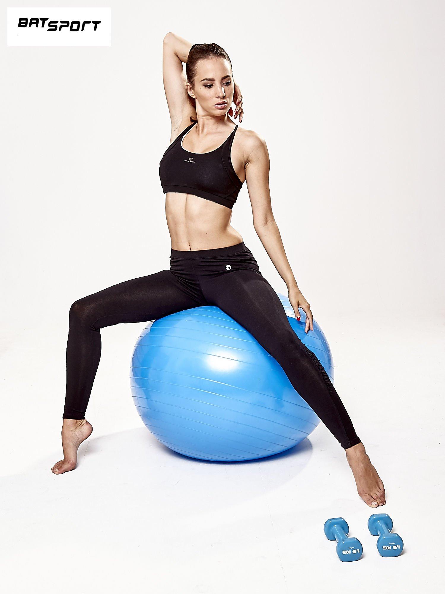 Niebieska średnia piłka fitness                                   zdj.                                  6