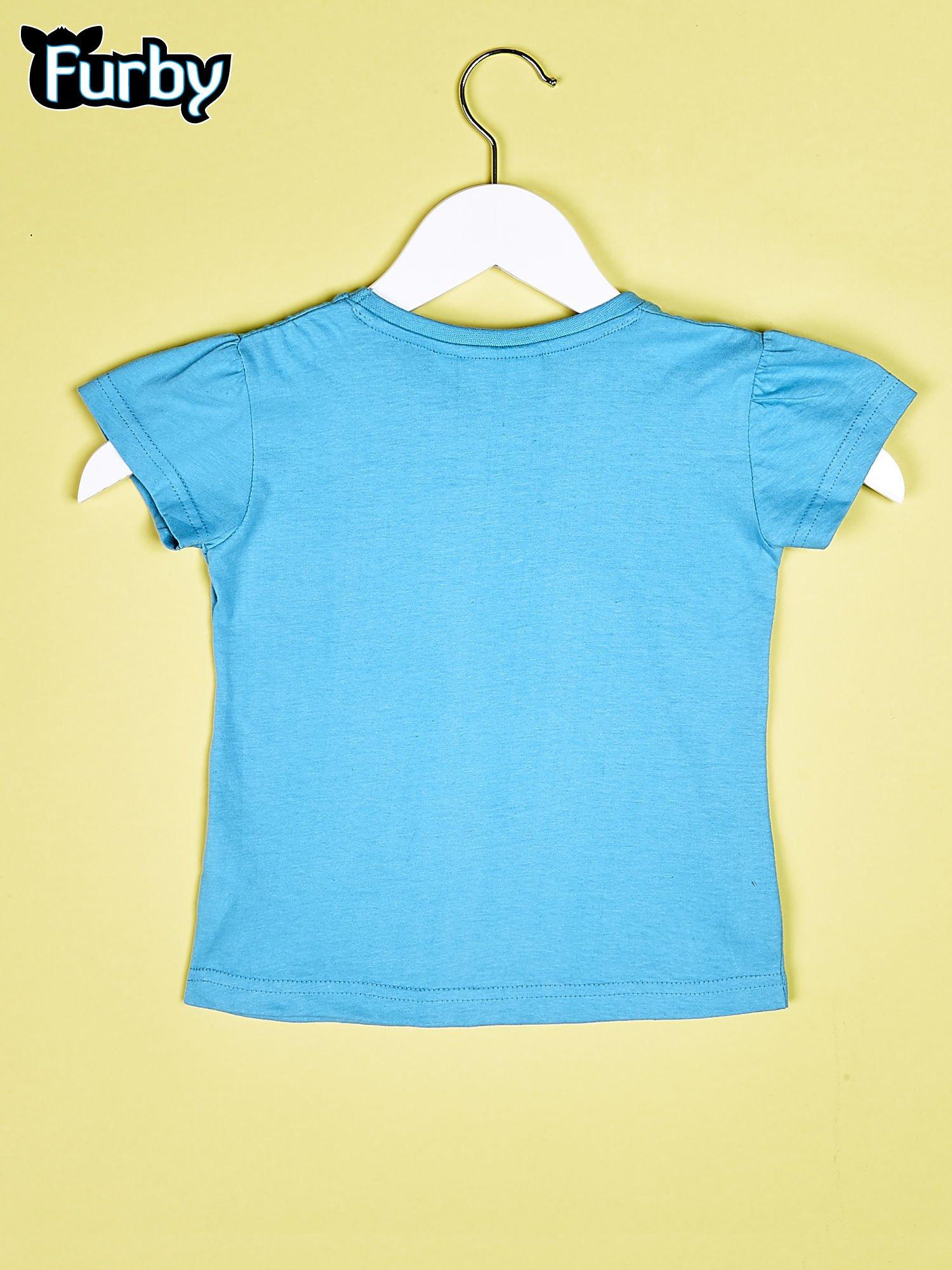 Niebieski chłopięcy t-shirt FURBY                                  zdj.                                  2