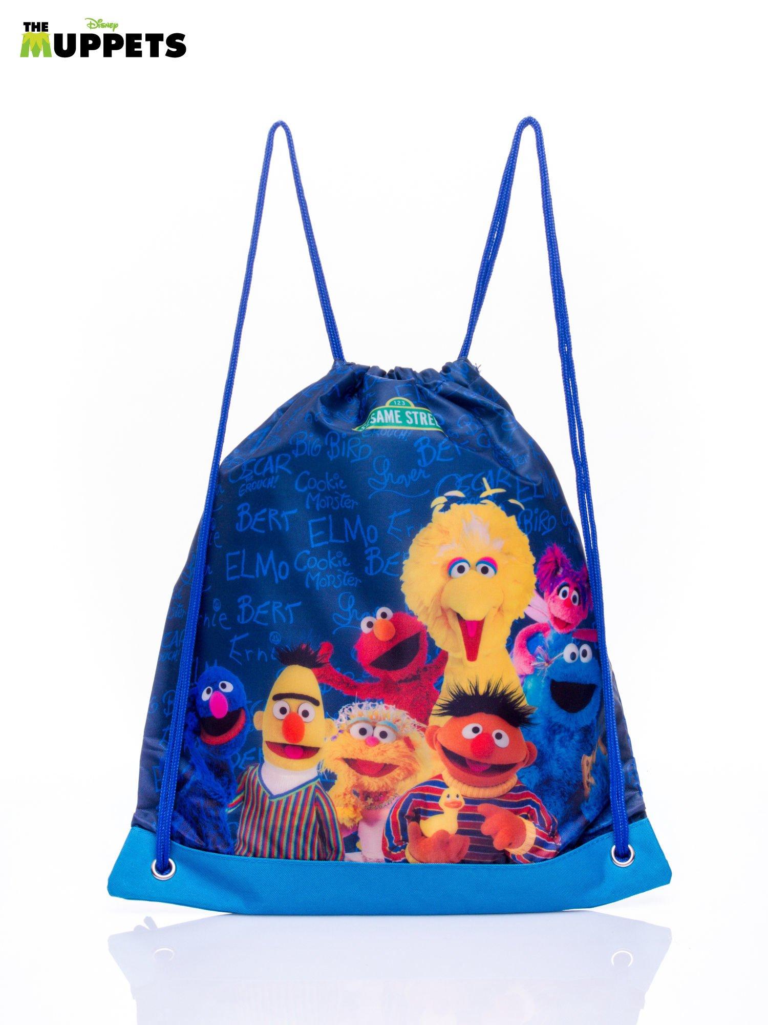 Niebieski plecak worek DISNEY Muppety                                   zdj.                                  1