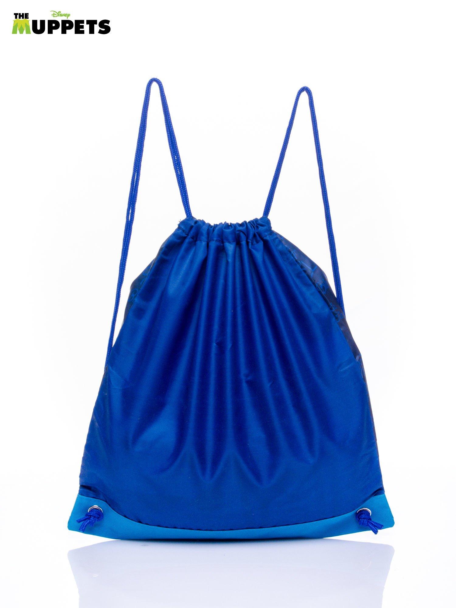 Niebieski plecak worek DISNEY Muppety                                   zdj.                                  2