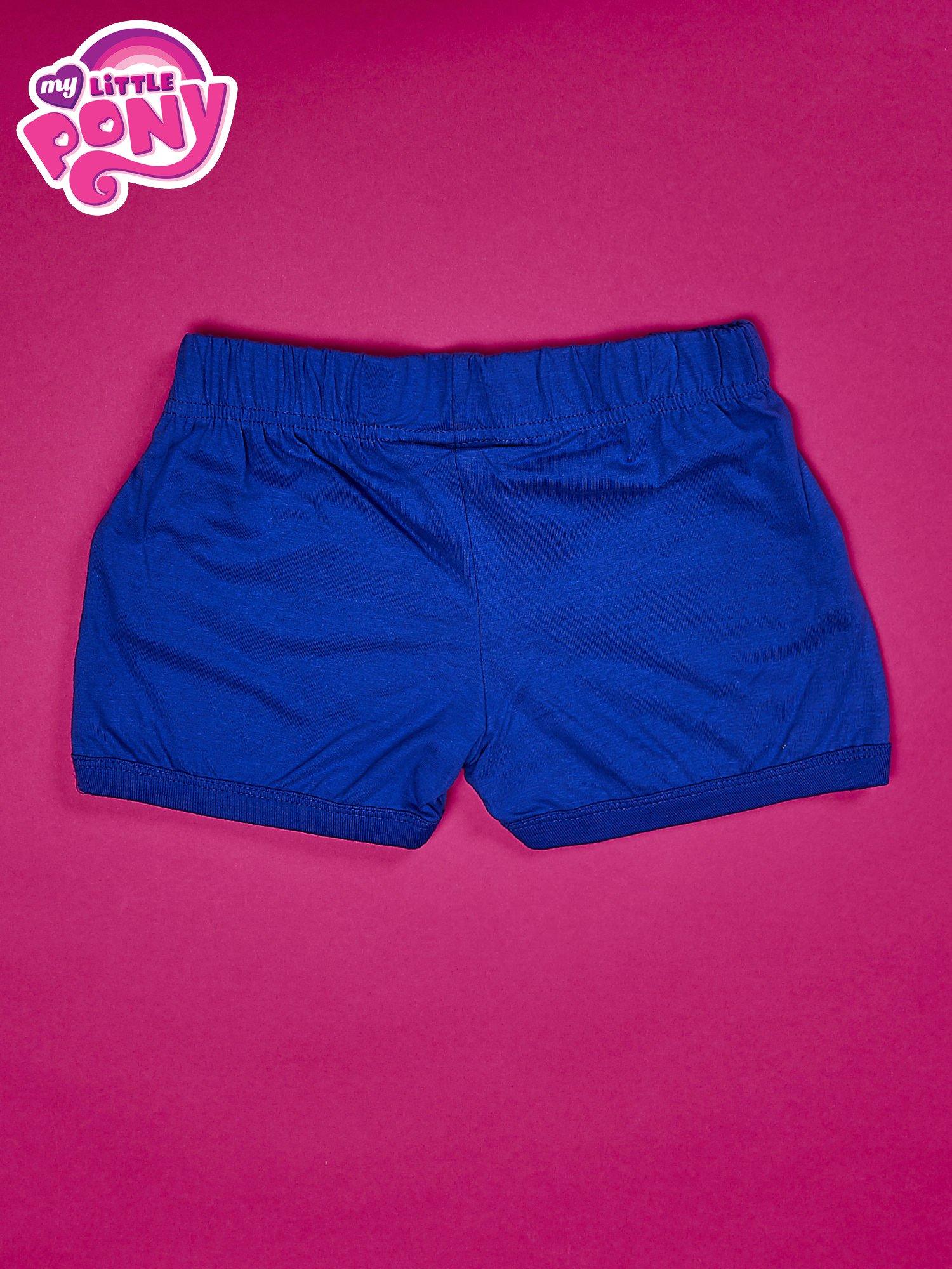 Niebieskie szorty dla dziewczynki MY LITTLE PONY                                  zdj.                                  2