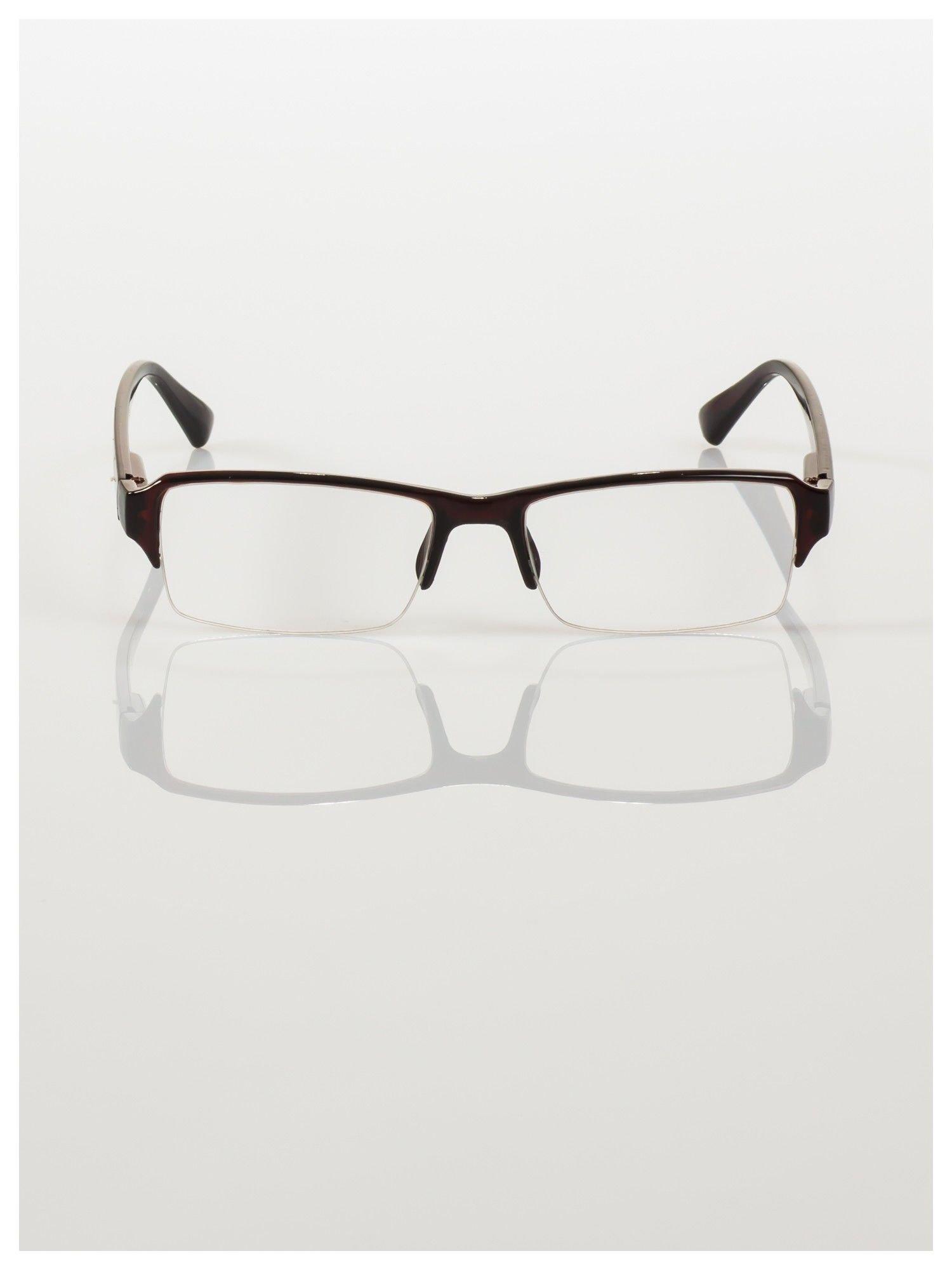 Okulary korekcyjne +1.5 D do czytania z systemem FLEX na zausznikach +GRATIS PLASTIKOWE ETUI I ŚCIERECZKA Z MIKROFIBRY                                  zdj.                                  3