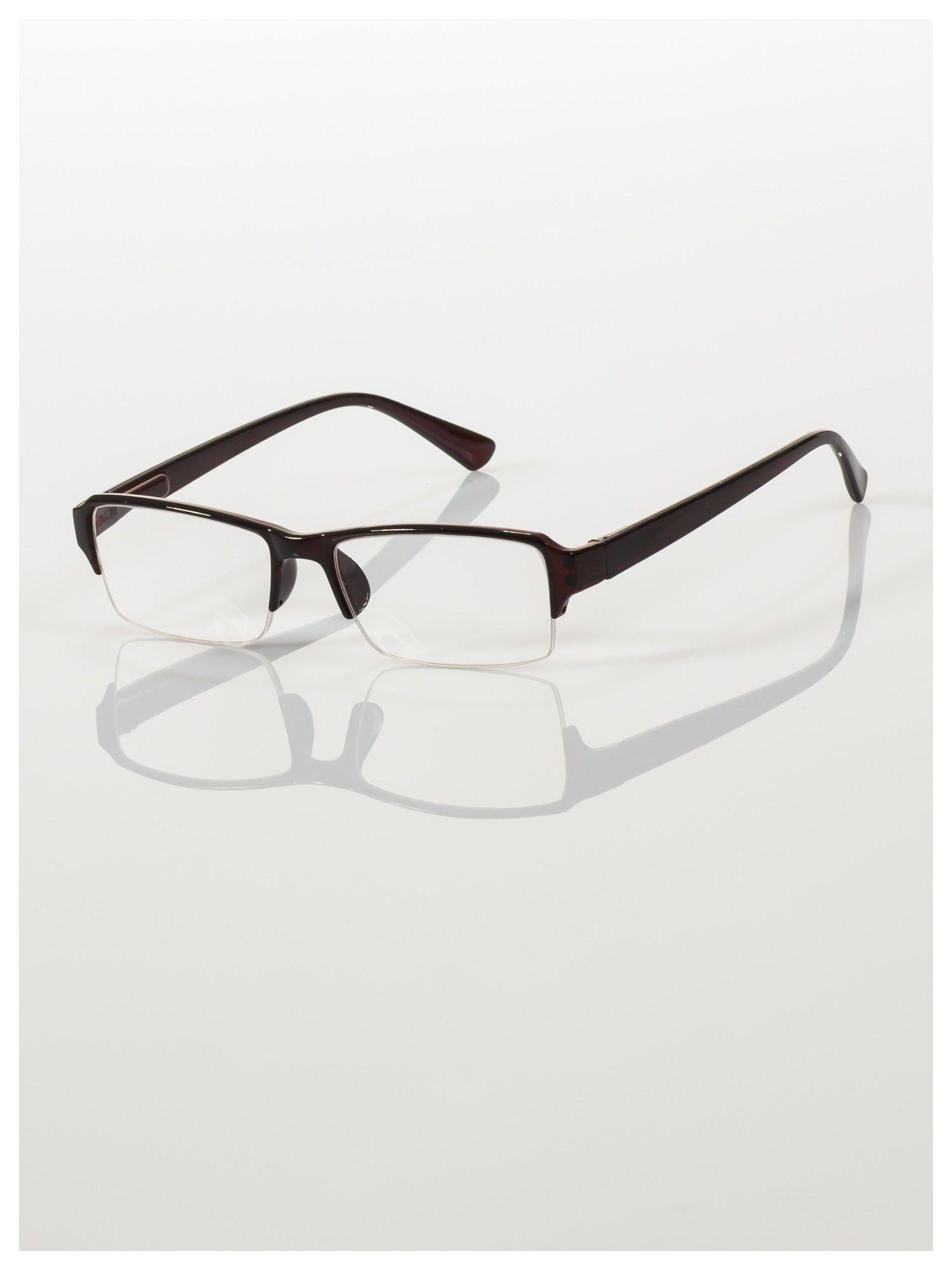 Okulary korekcyjne +1.5 D do czytania z systemem FLEX na zausznikach +GRATIS PLASTIKOWE ETUI I ŚCIERECZKA Z MIKROFIBRY                                  zdj.                                  4