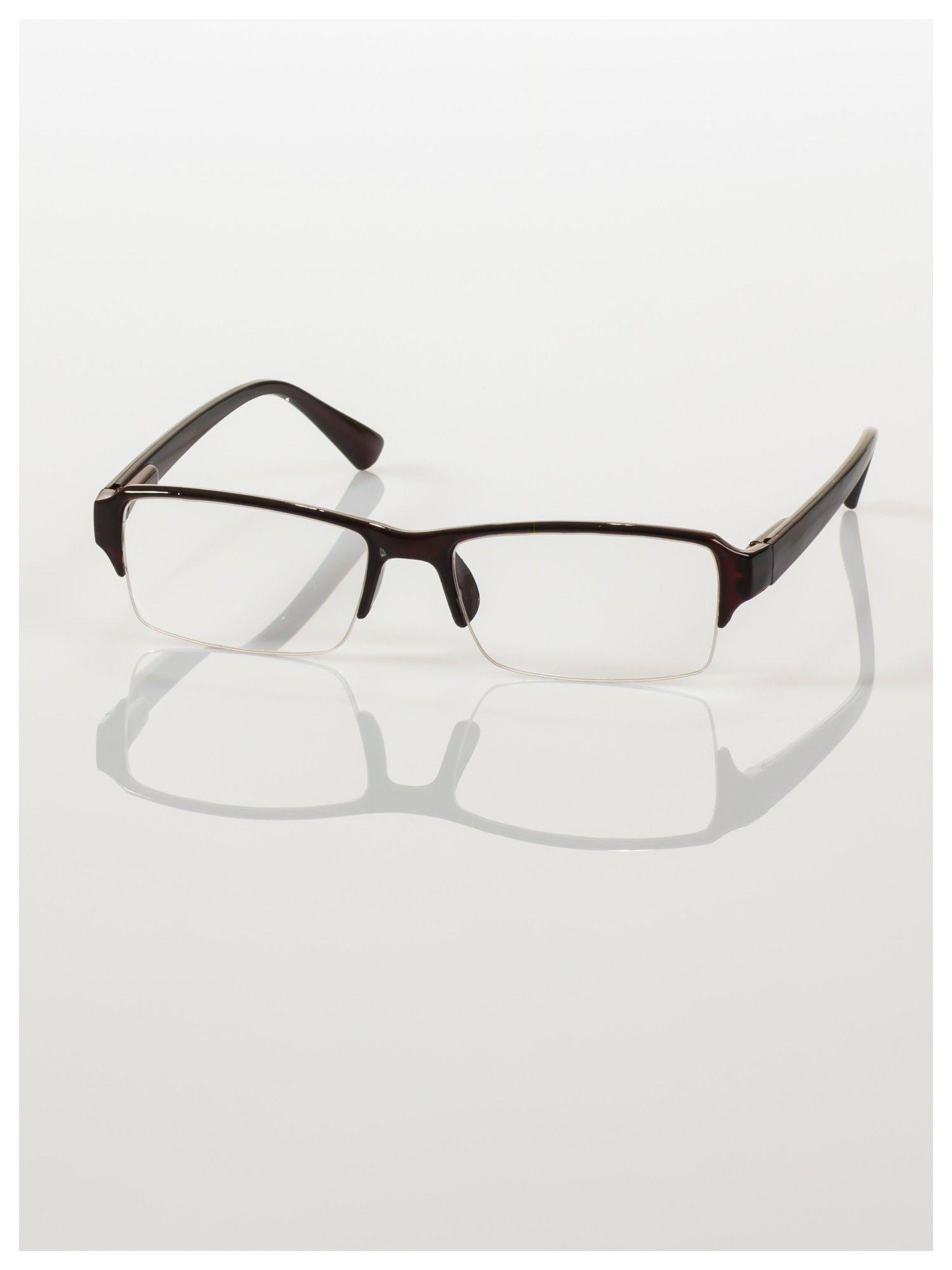 Okulary korekcyjne +1.5 D do czytania z systemem FLEX na zausznikach +GRATIS PLASTIKOWE ETUI I ŚCIERECZKA Z MIKROFIBRY                                  zdj.                                  5