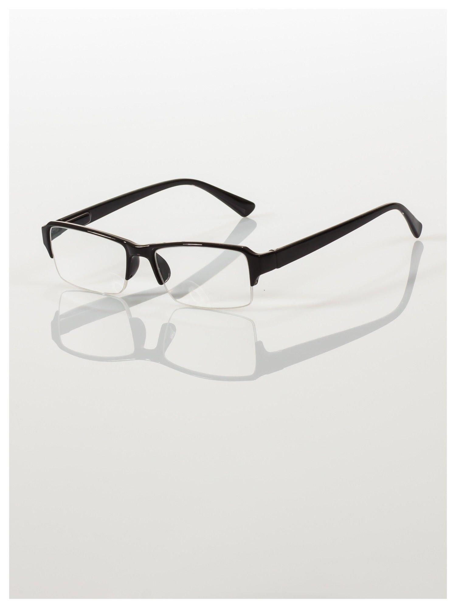 Okulary korekcyjne +3.5 D do czytania z systemem FLEX na zausznikach +GRATIS PLASTIKOWE ETUI I ŚCIERECZKA Z MIKROFIBRY                                  zdj.                                  2
