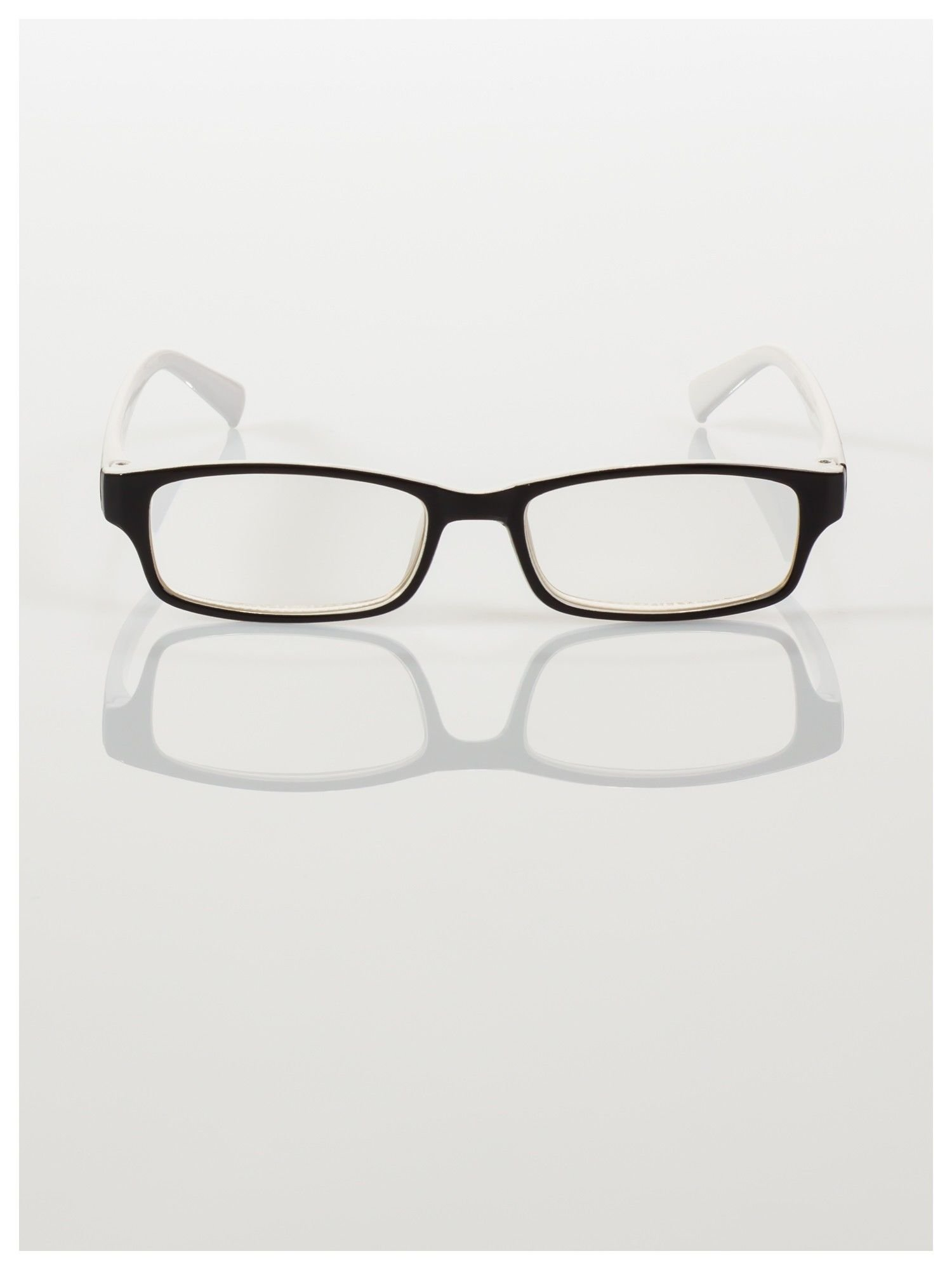 Okulary korekcyjne dwukolorowe do czytania +1.0 D                                    zdj.                                  3