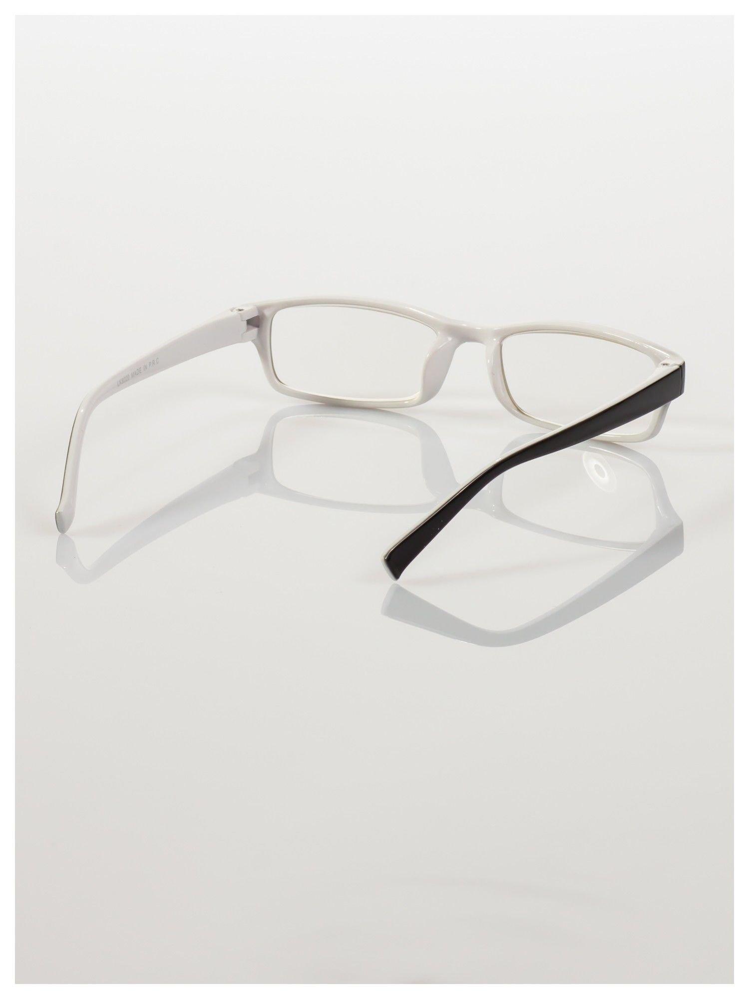 Okulary korekcyjne dwukolorowe do czytania +1.0 D                                    zdj.                                  4