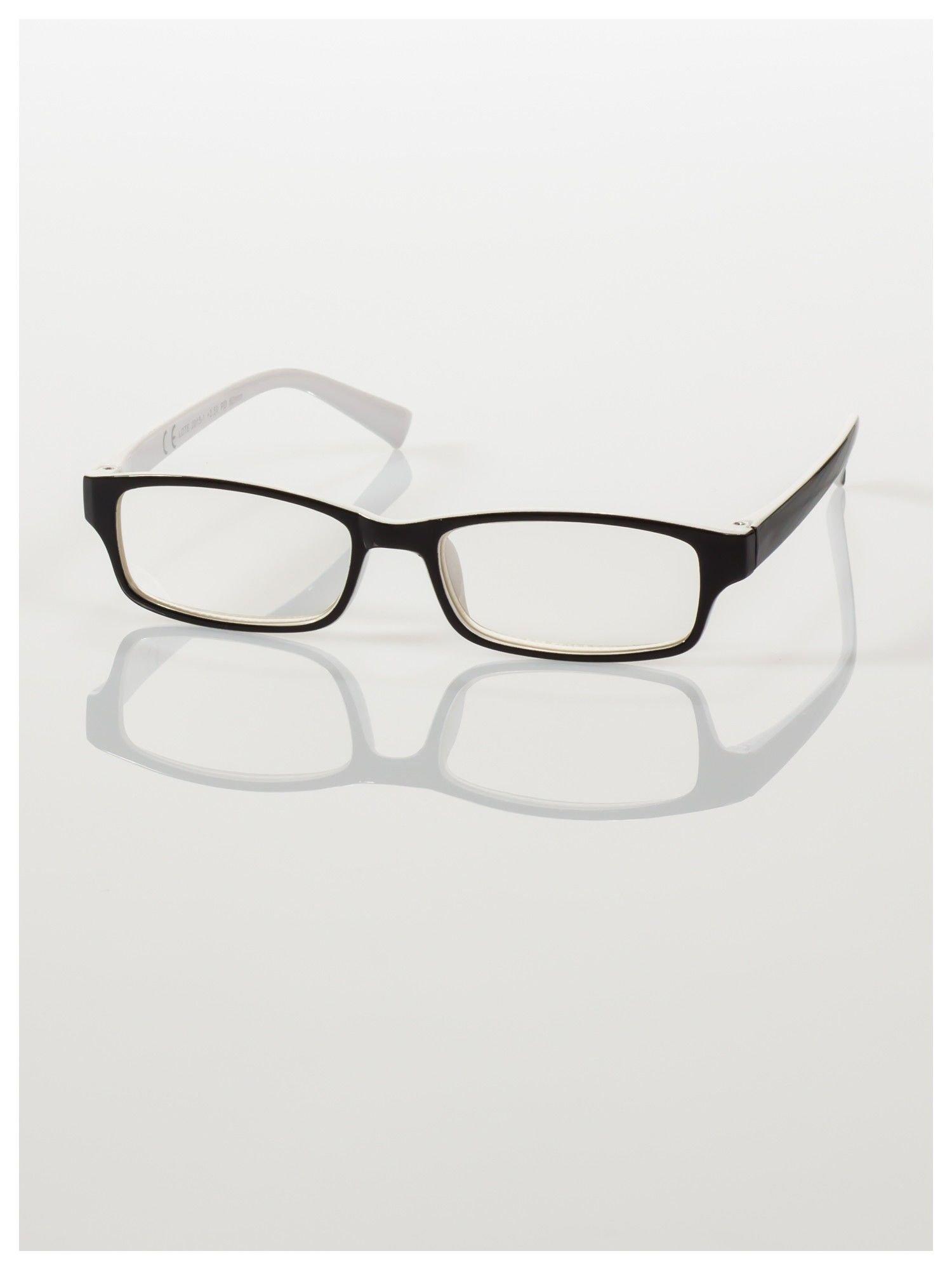 Okulary korekcyjne dwukolorowe do czytania +3.5 D                                    zdj.                                  2