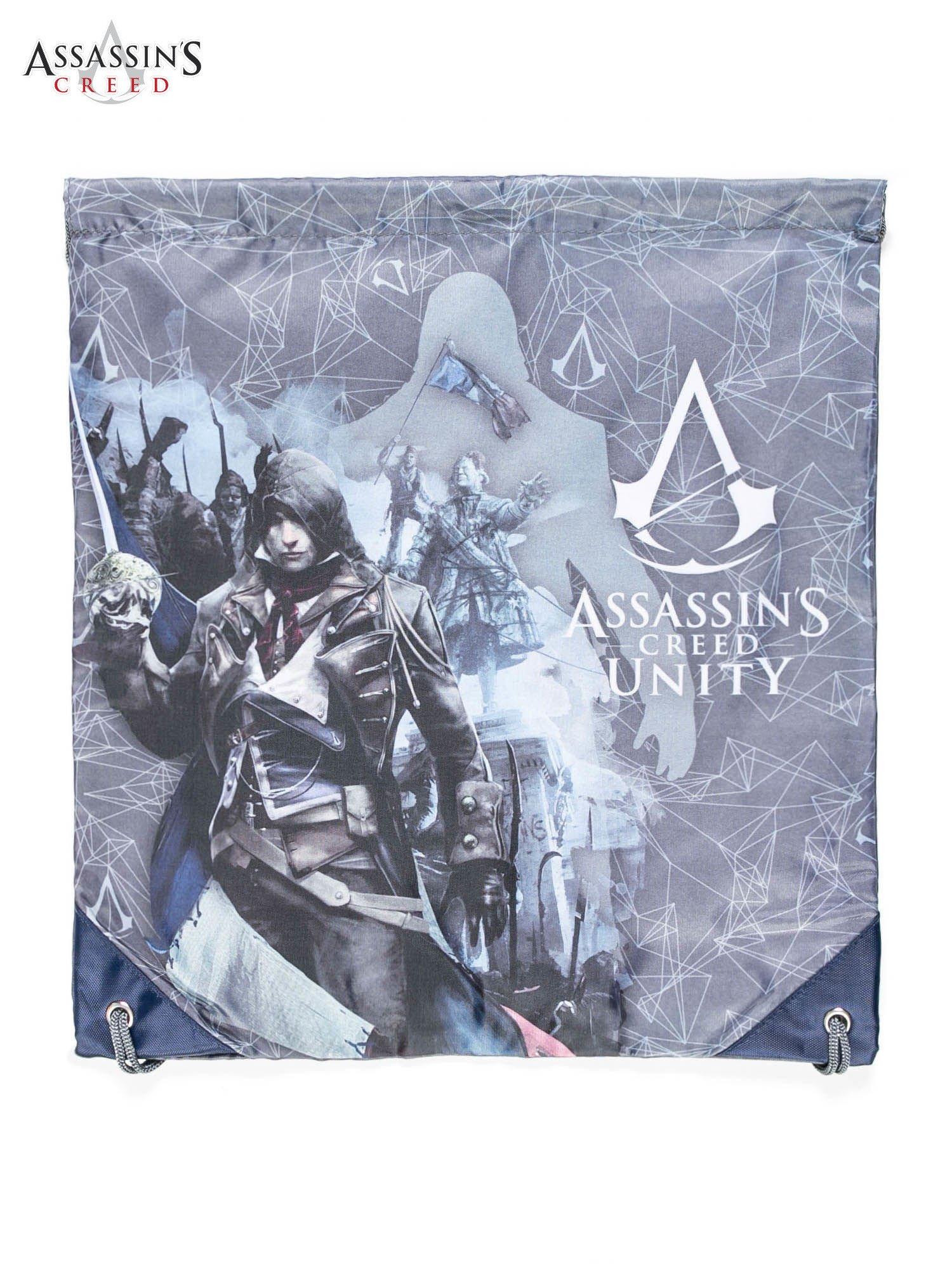 Plecak typu worek z nadrukiem ASSASSIN'S CREED