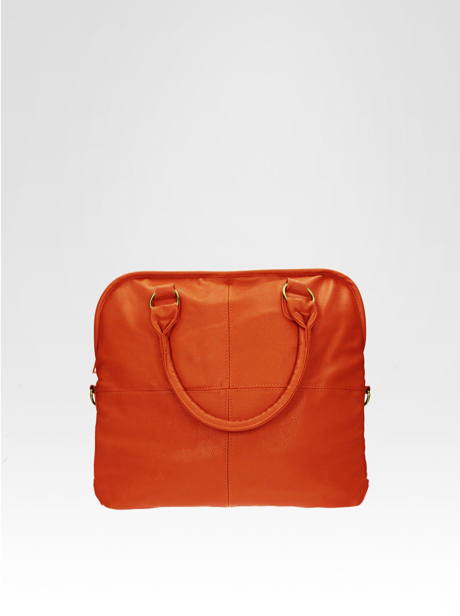 Pomarańczowa torba miejska na ramię                                  zdj.                                  1