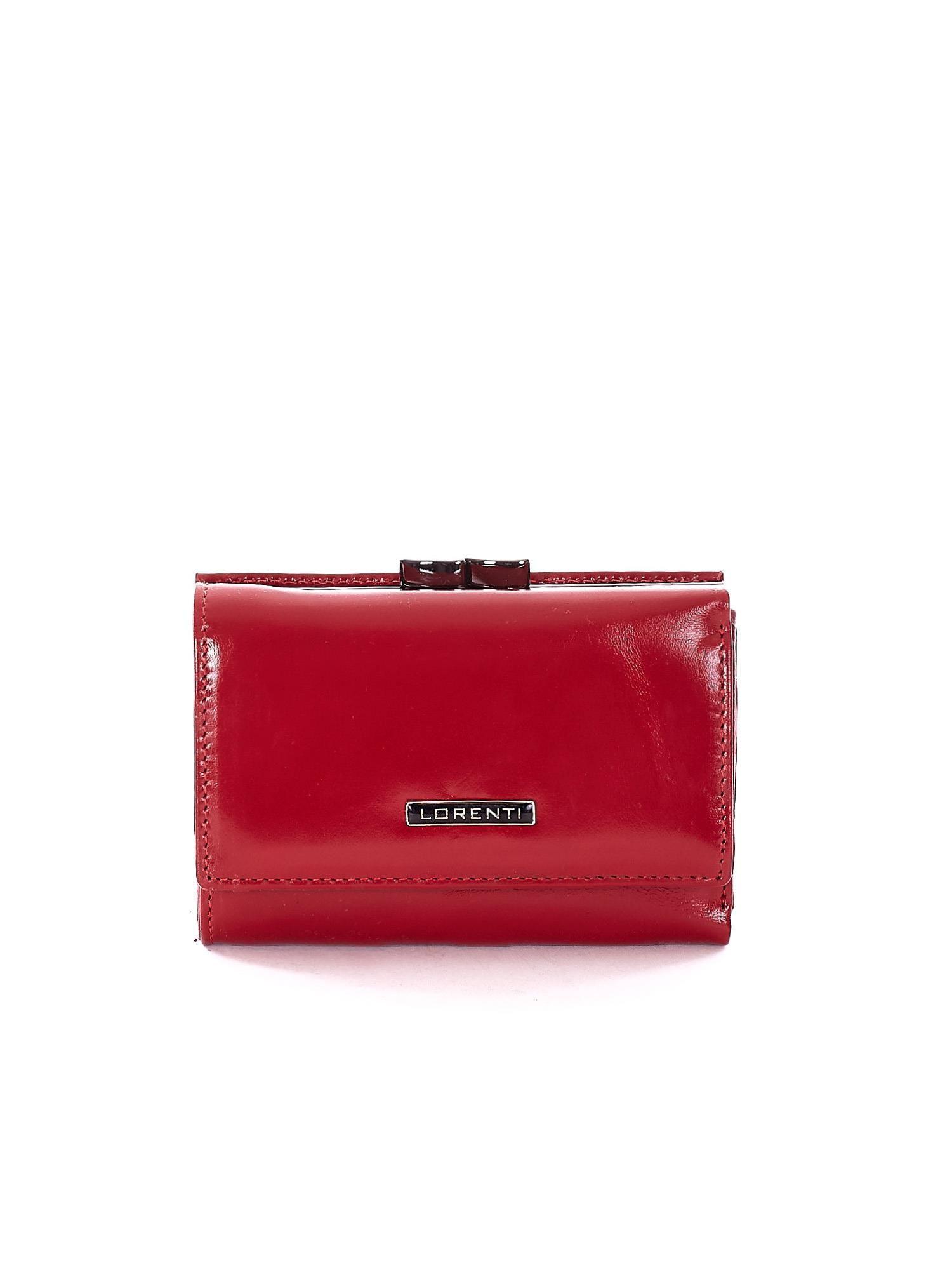0ccc0ea838180 Portfel czerwony z przegródką na bigiel - Akcesoria portfele - sklep ...