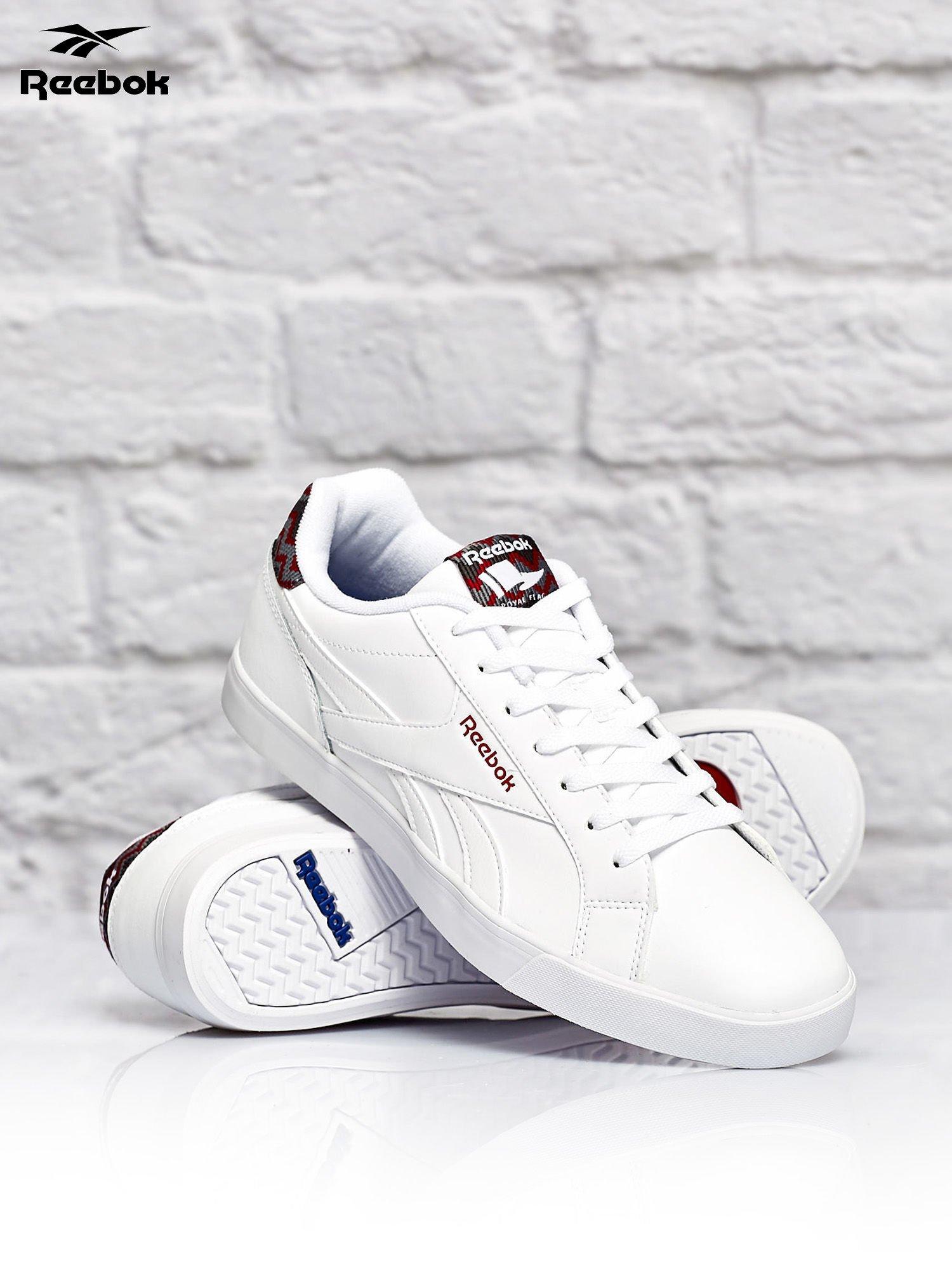 męskie buty sportowe białe