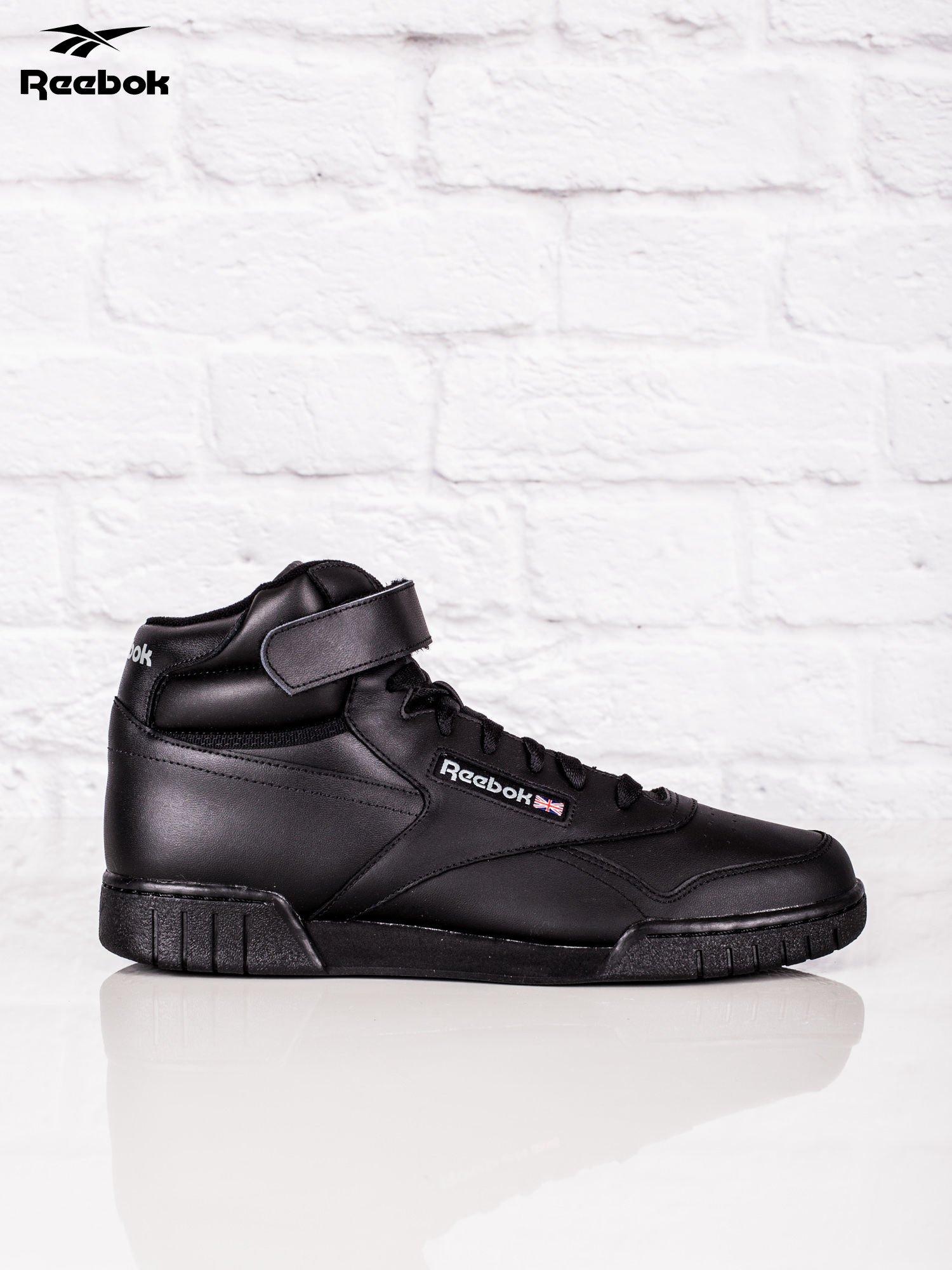 25baecad REEBOK Czarne buty sportowe męskie Ex-O-Fit Hi - Mężczyźni Buty ...