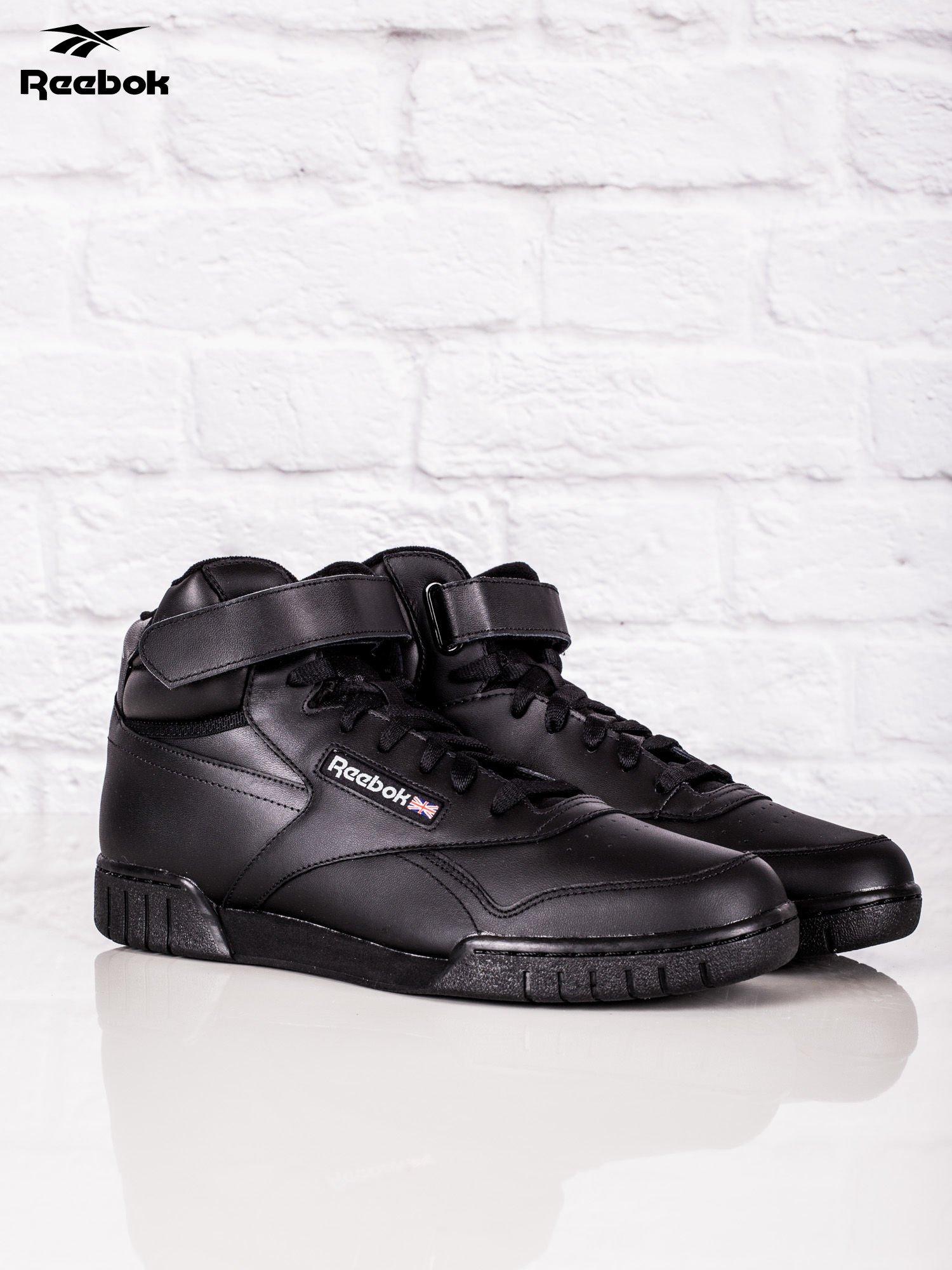 wyprzedaż ze zniżką Nowy Jork ładne buty REEBOK Czarne buty sportowe męskie Ex-O-Fit Hi