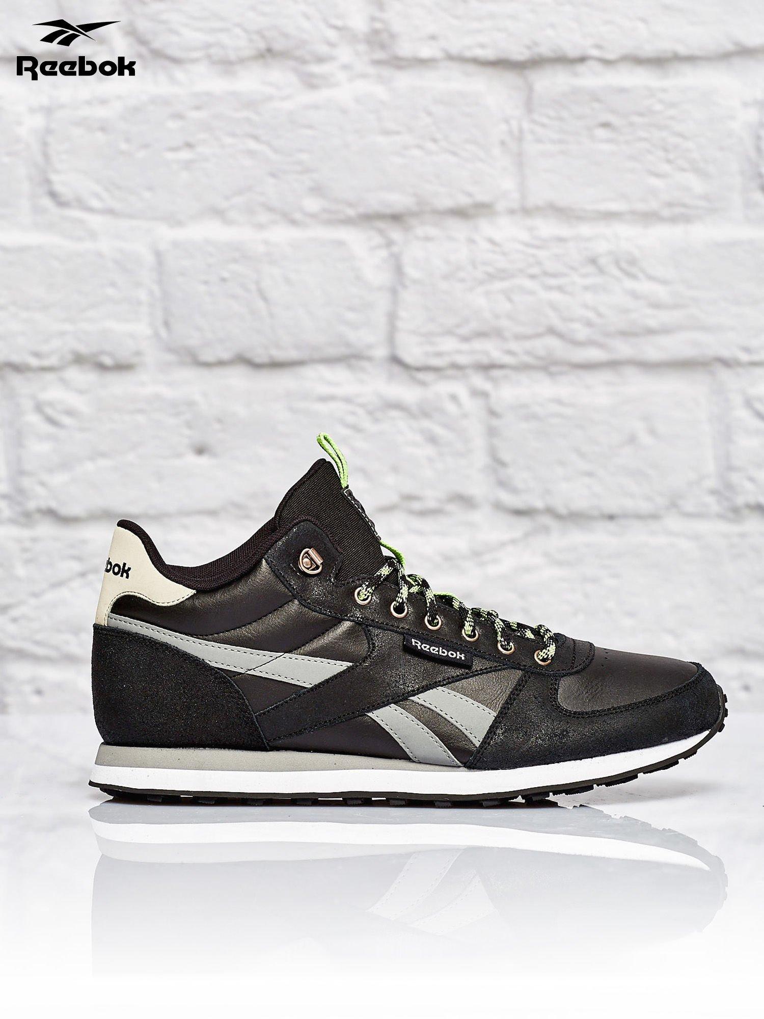 afa53457a769 REEBOK Czarne buty sportowe męskie Royal CL JOG WLD - Mężczyźni Buty ...