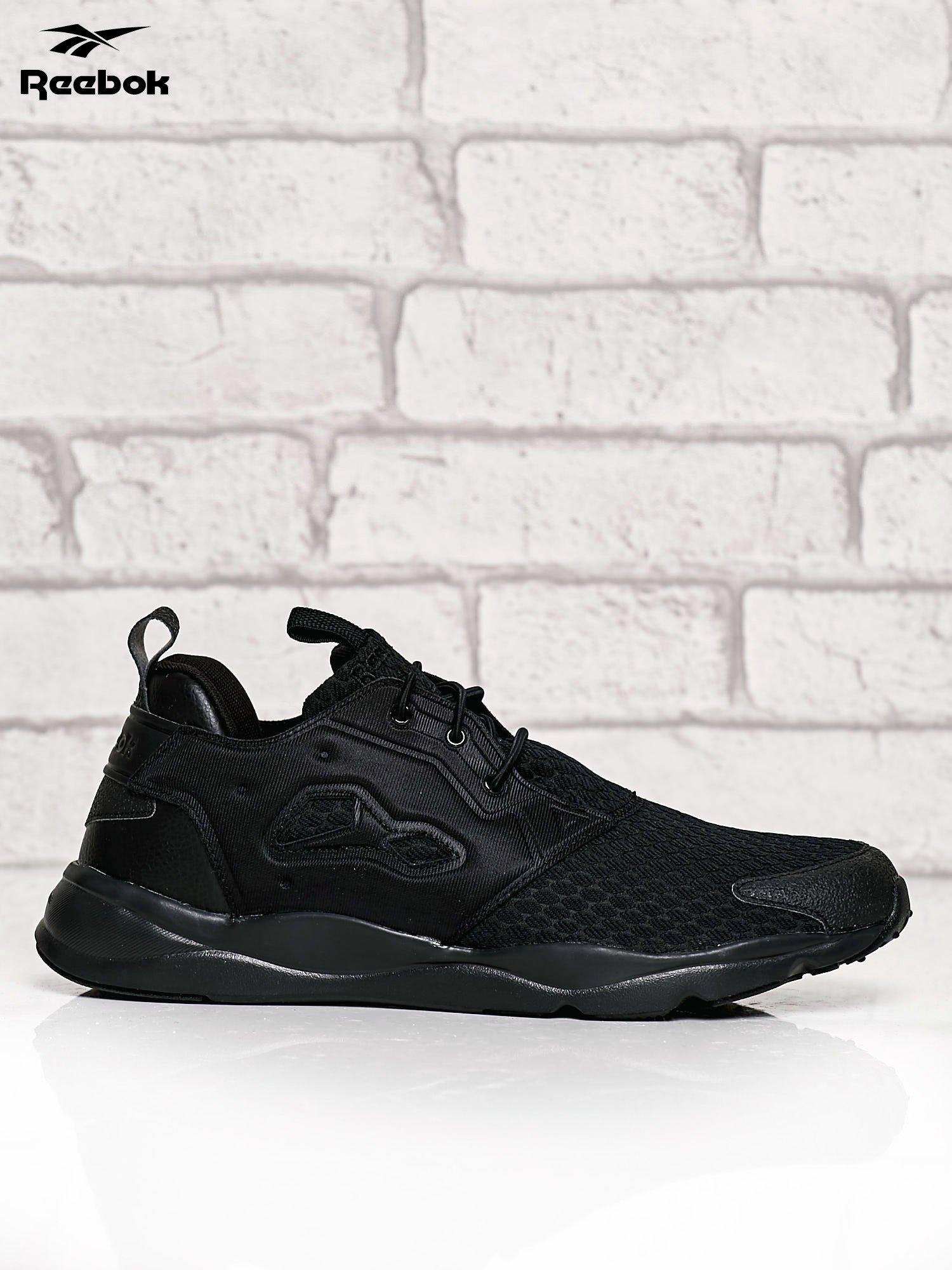 sklep świetne oferty różnie REEBOK czarne buty męskie Furylite o futurystycznym kształcie