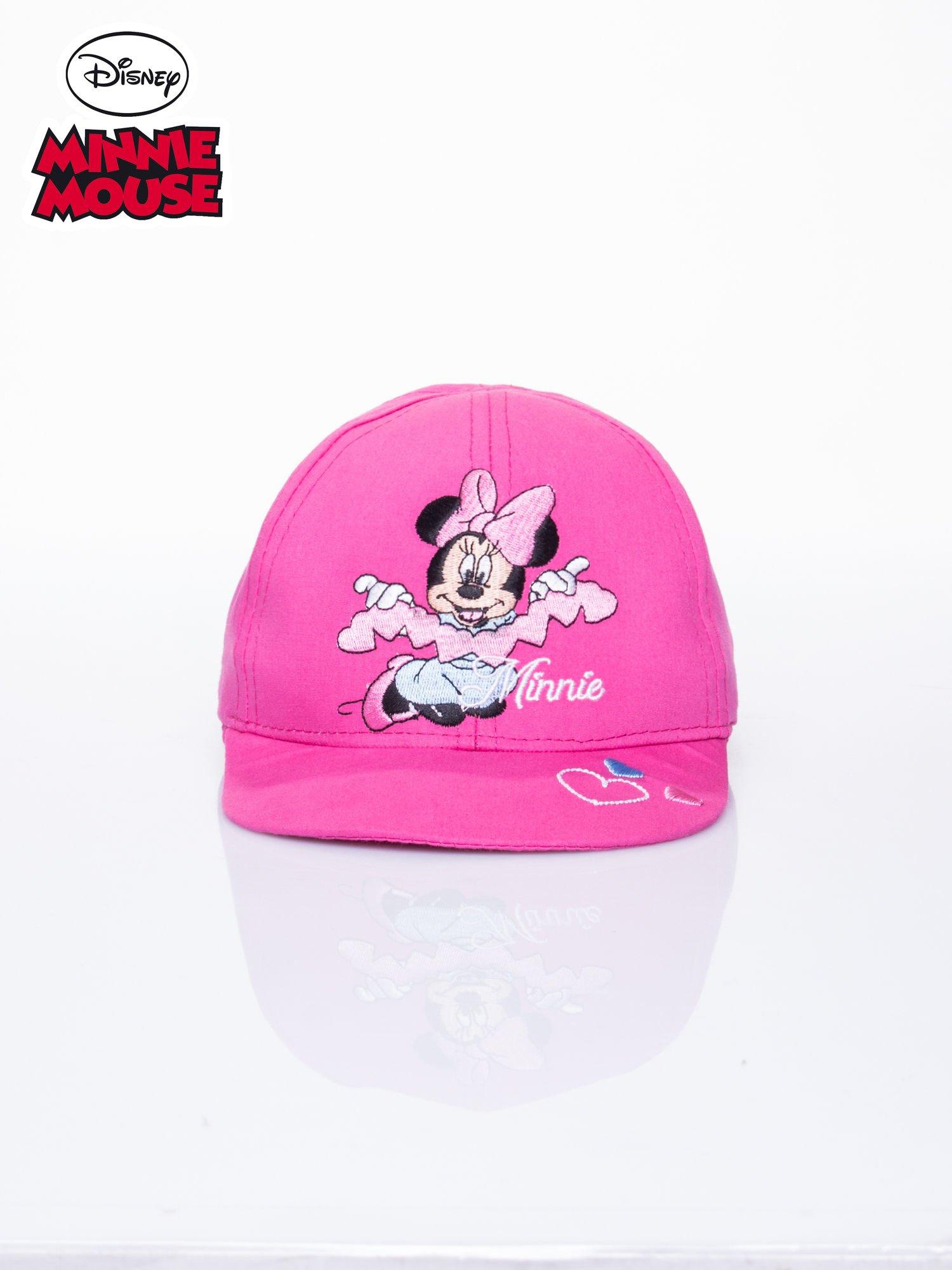 Różowa czapka z daszkiem dla dziewczynki MINNIE MOUSE                                  zdj.                                  1
