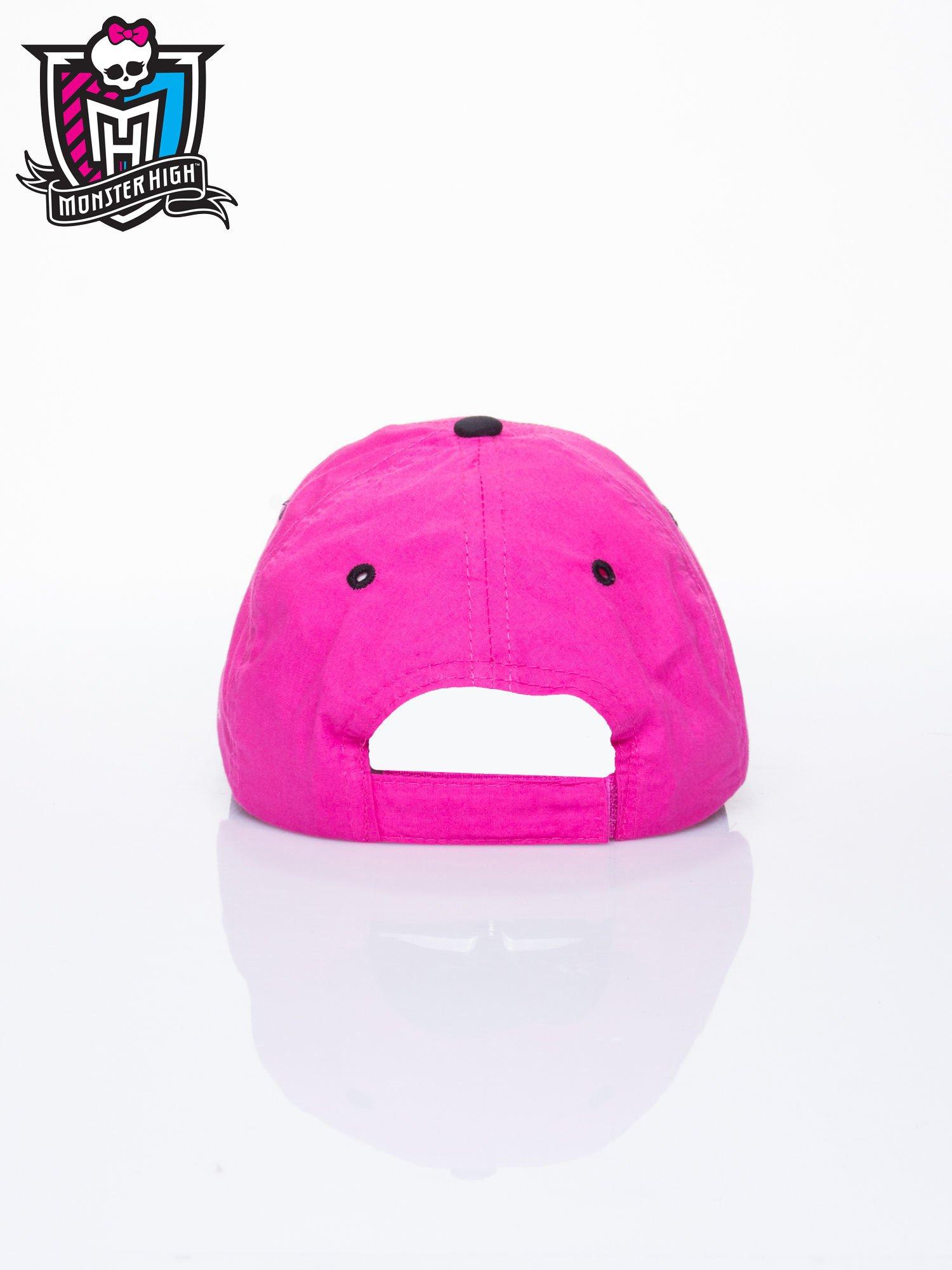 Różowa czapka z daszkiem dla dziewczynki MONSTER HIGH                                  zdj.                                  3