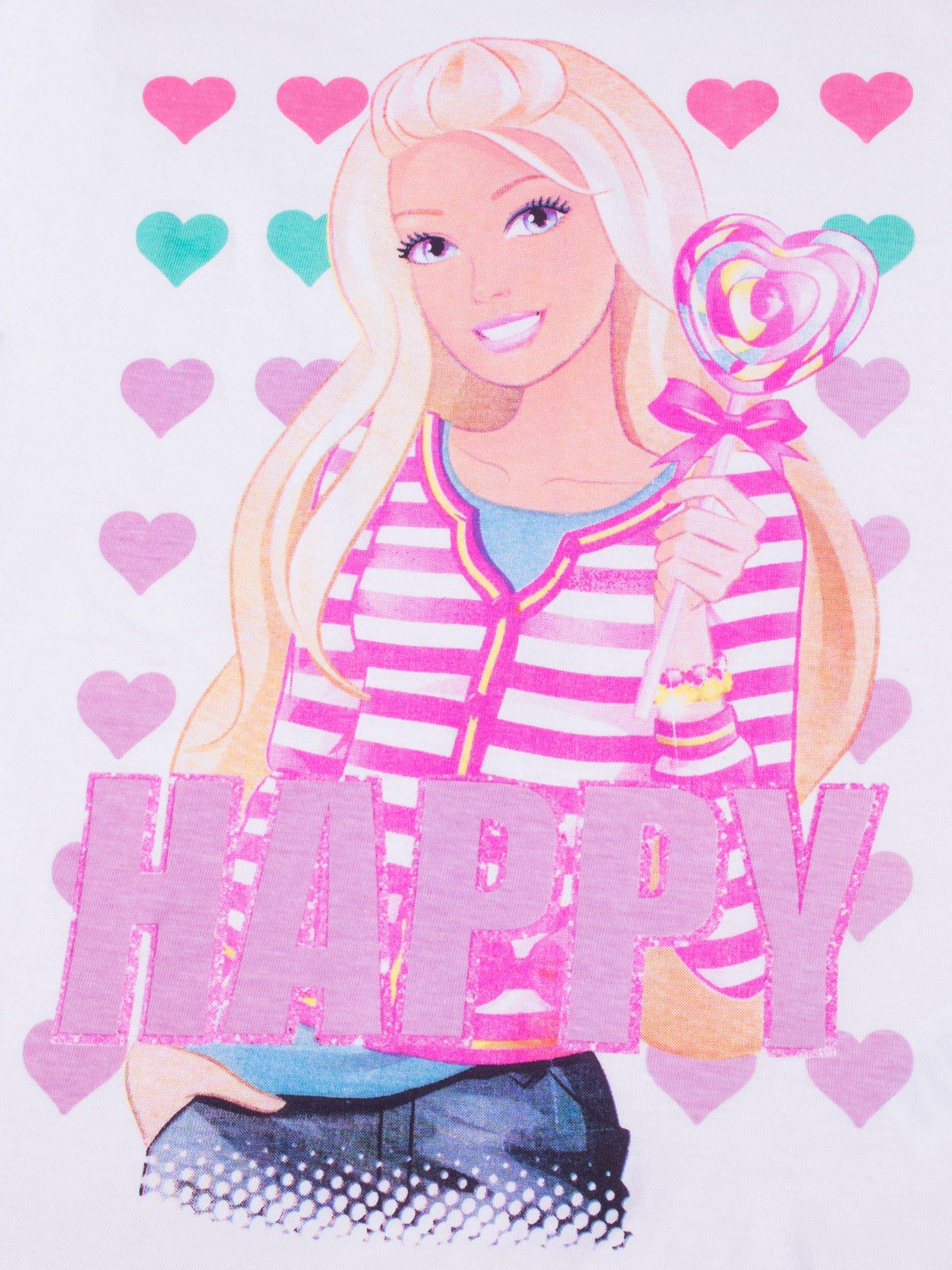 Różowa piżama dla dziewczynki BARBIE                                  zdj.                                  8