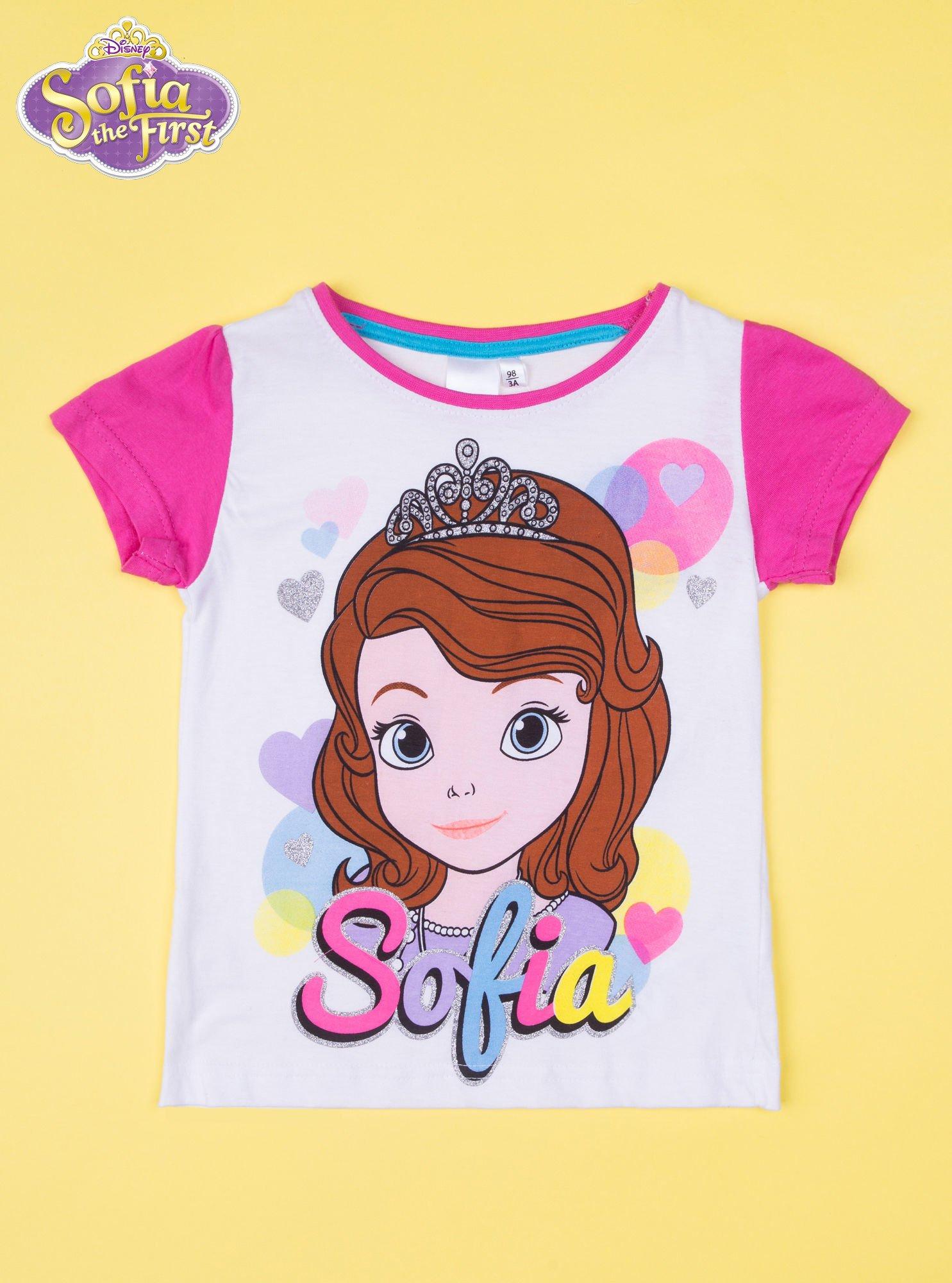 Różowa piżama dla dziewczynki JEJ WYSOKOŚĆ ZOSIA                                  zdj.                                  2