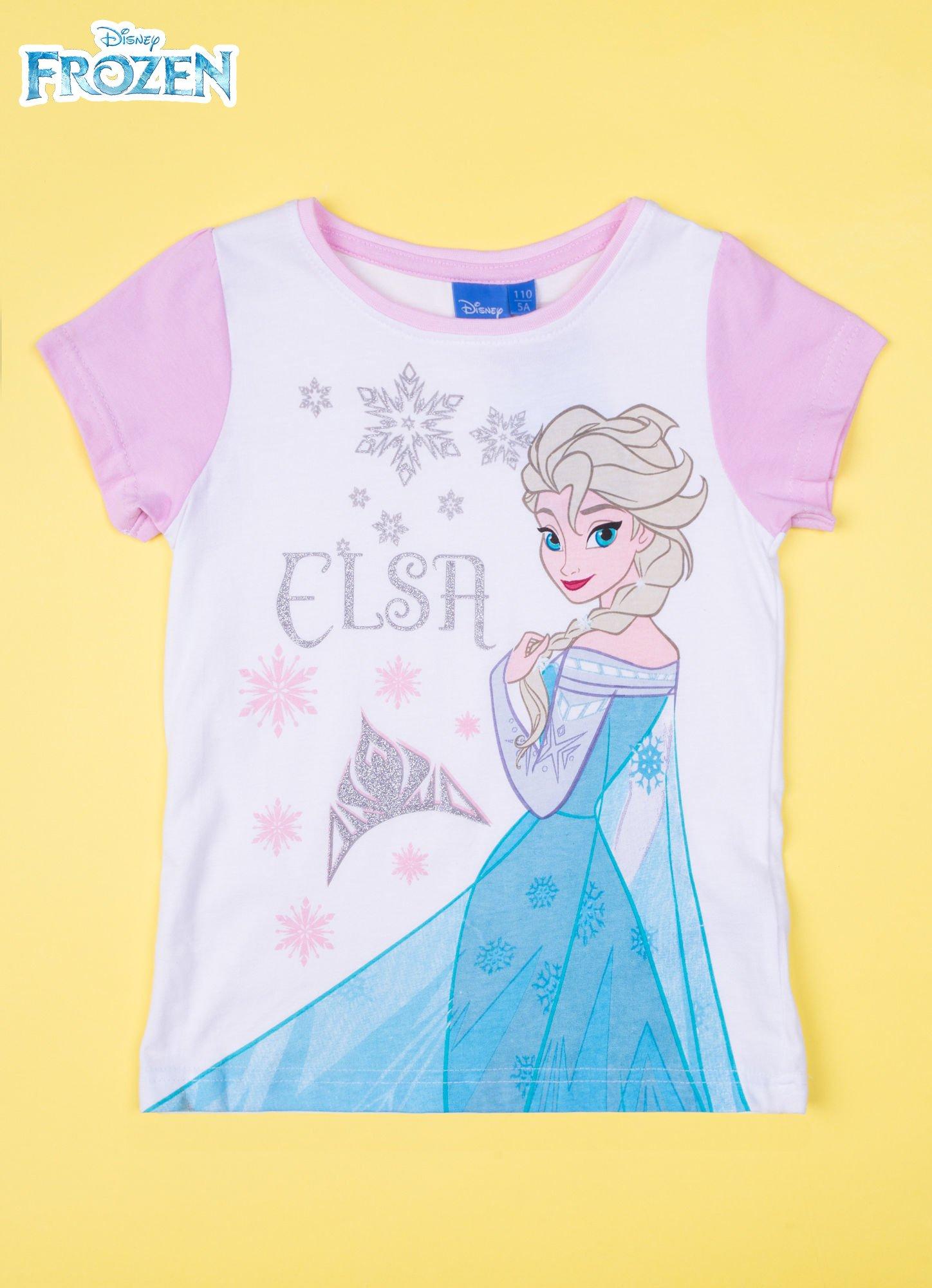 Różowa piżama dla dziewczynki KRAINA LODU                                  zdj.                                  2