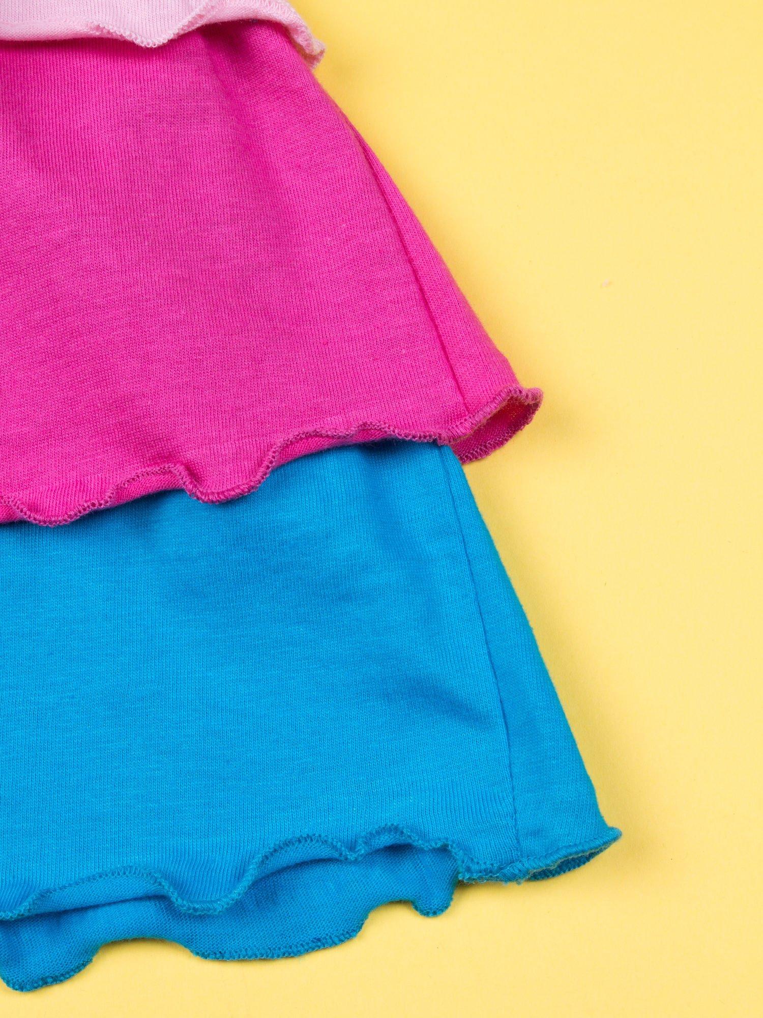 Różowa spódnica dla dziewczynki HELLO KITTY z kokardką                                  zdj.                                  6