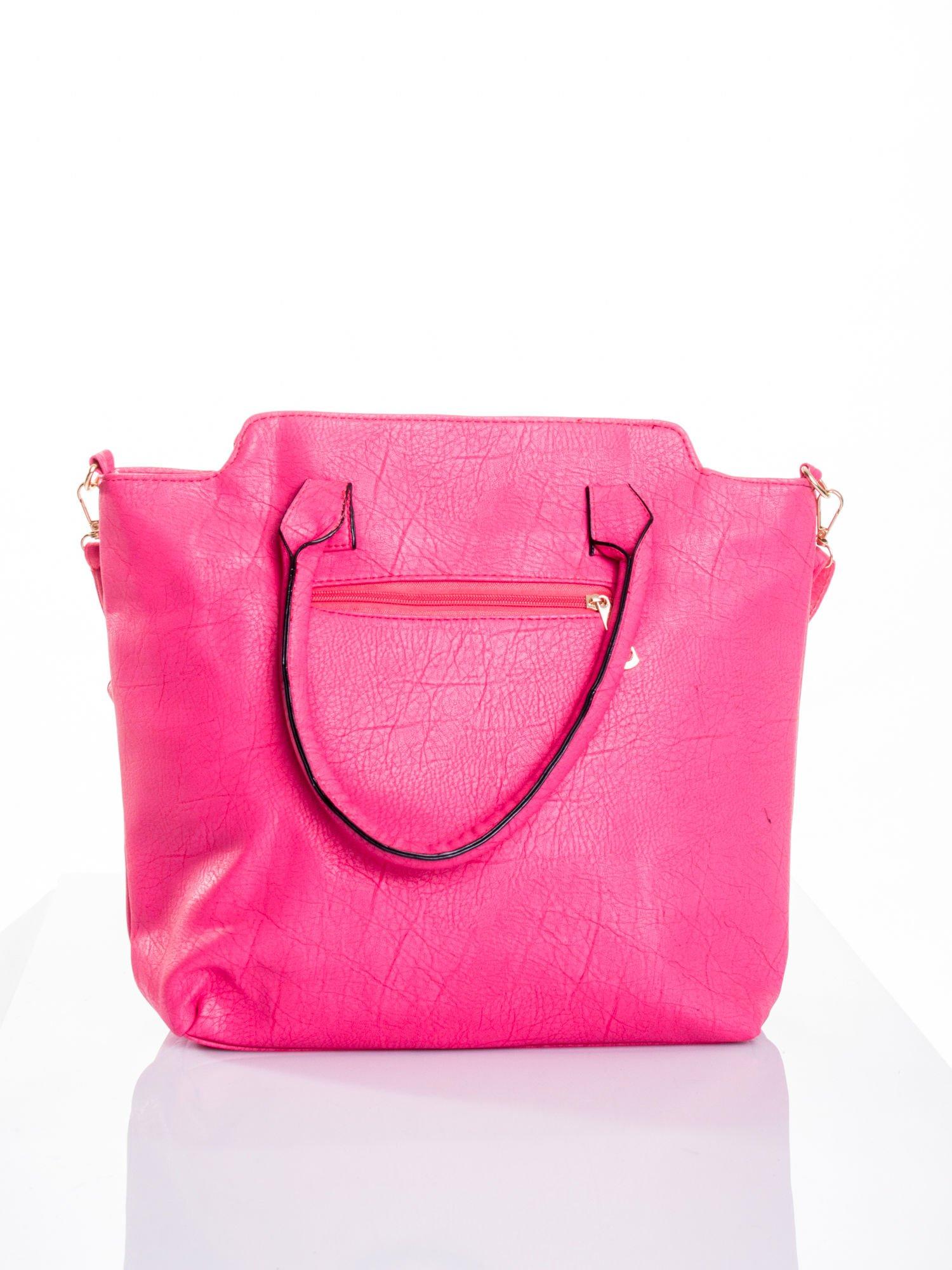 Różowa torba shopper bag                                  zdj.                                  2
