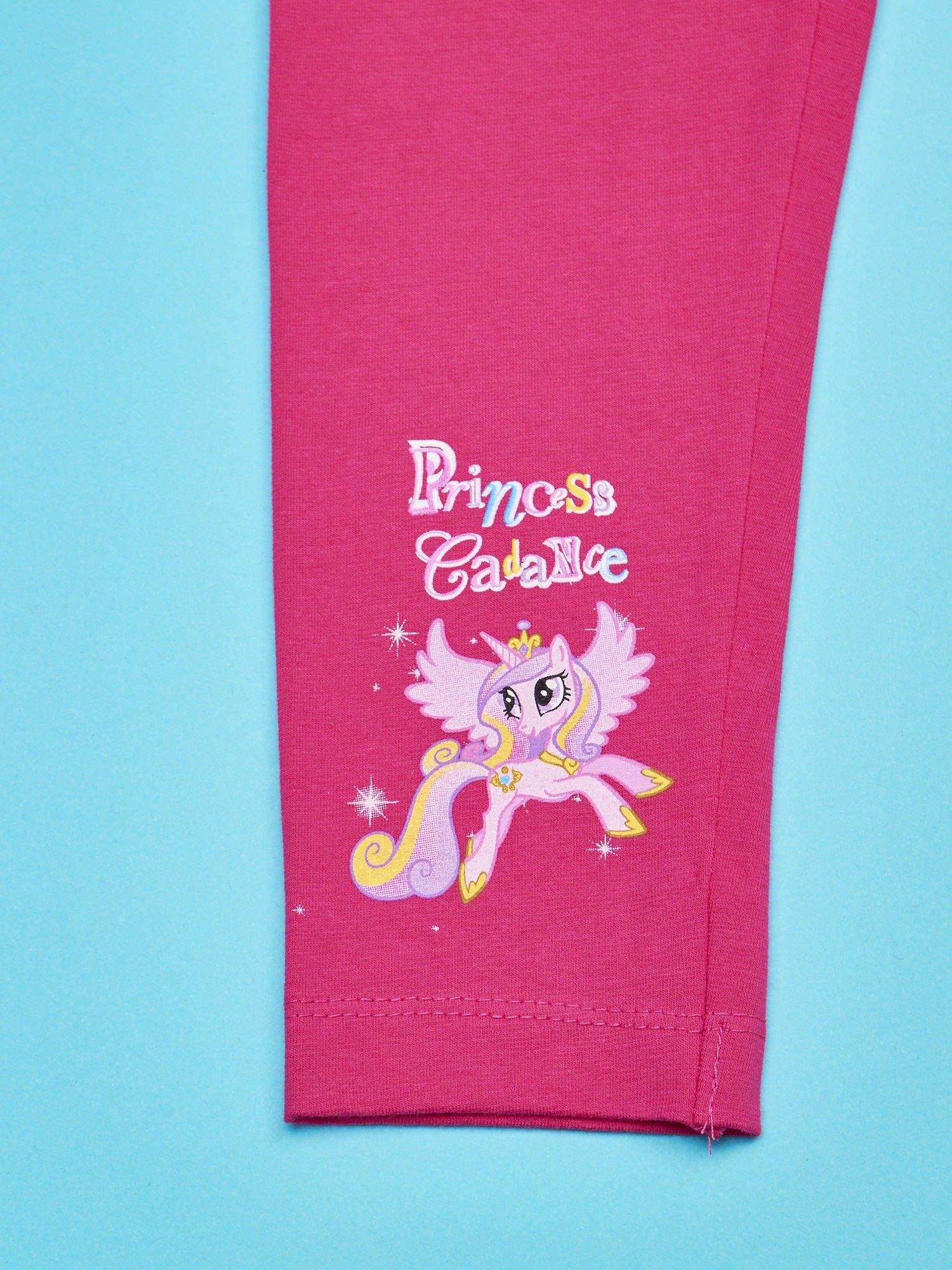 Różowe legginsy dla dziewczynki MY LITTLE PONY                                  zdj.                                  4
