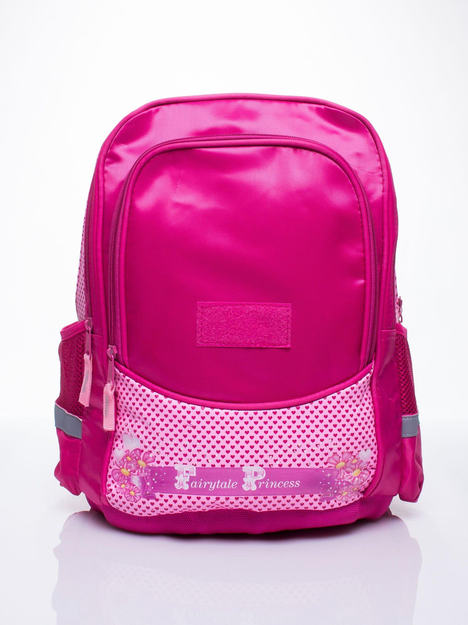 Różowy plecak dla dziewczynki DISNEY z księżniczkami                                  zdj.                                  3