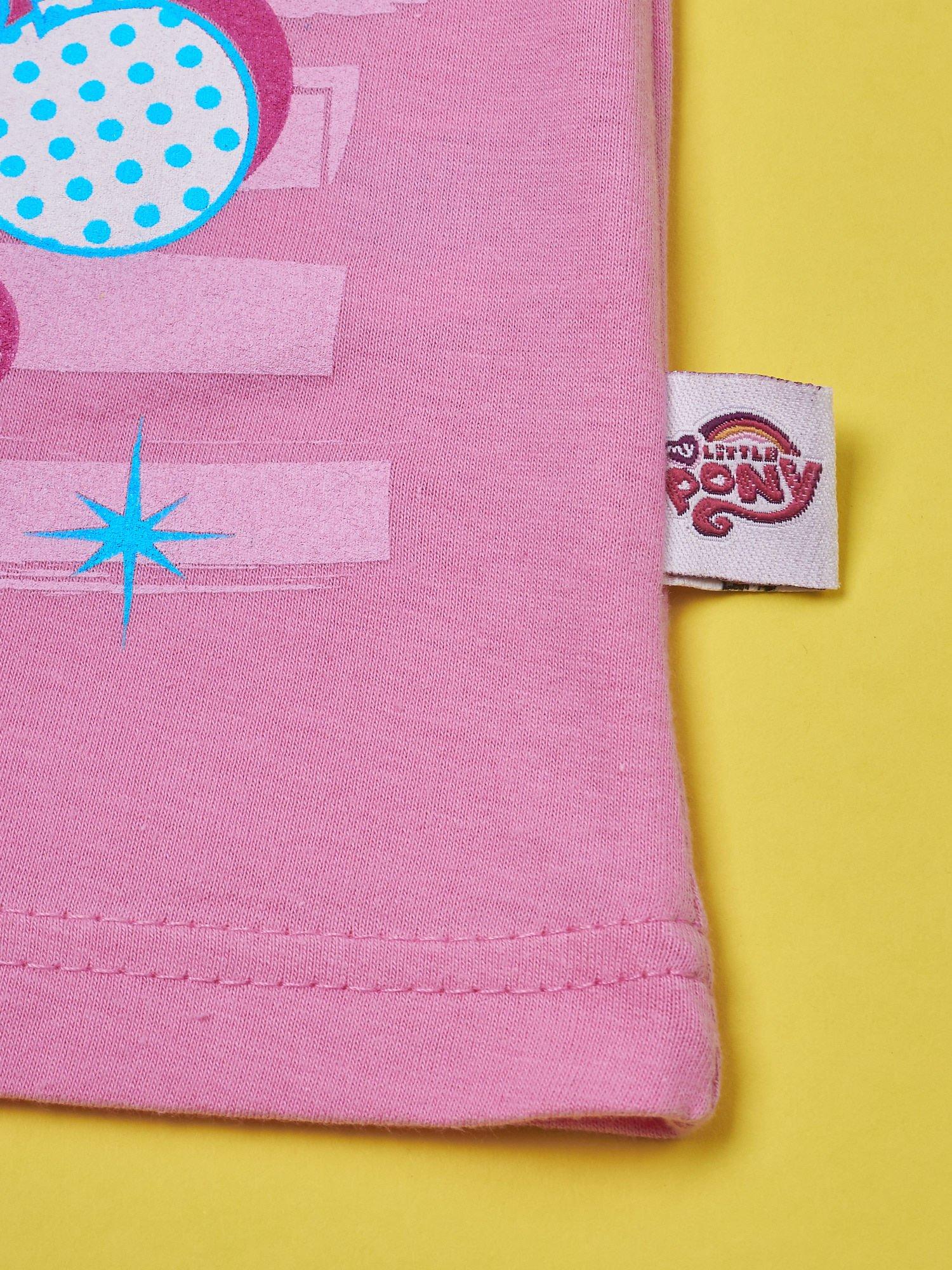 Różowy t-shirt dla dziewczynki MY LITTLE PONY                                  zdj.                                  4
