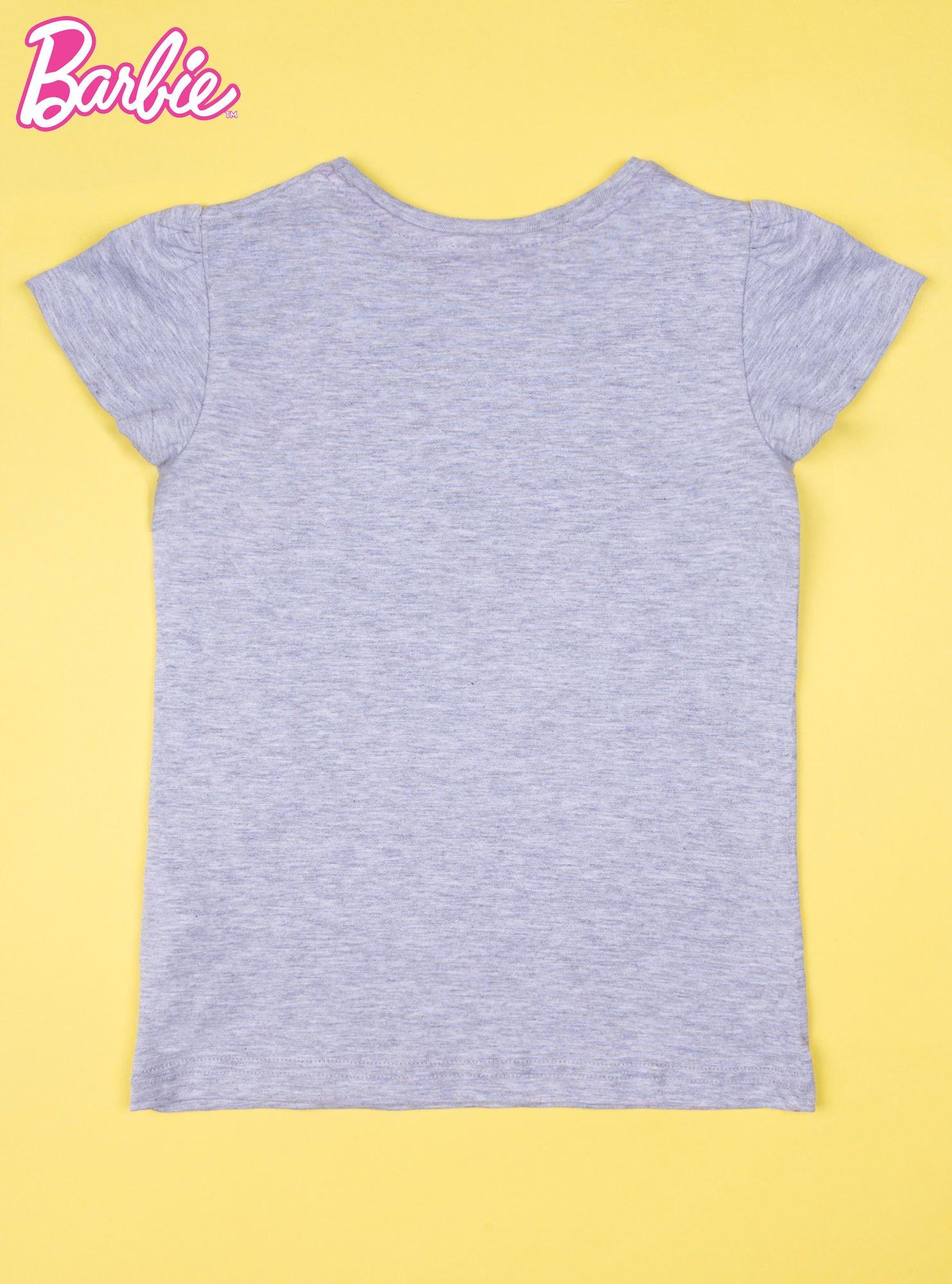 Szara piżama dla dziewczynki BARBIE                                  zdj.                                  3