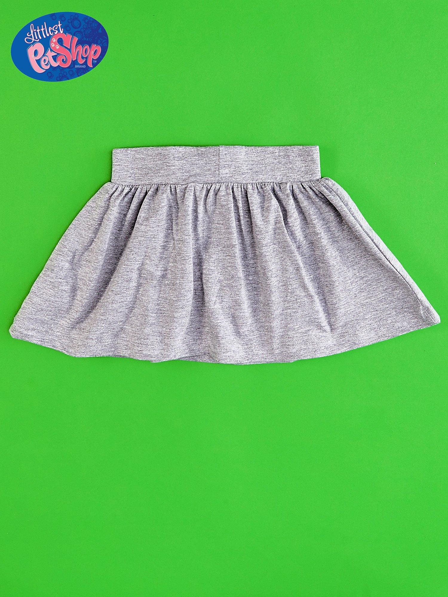 Szara spódnica dla dziewczynki LITTLEST PET SHOP                                  zdj.                                  2