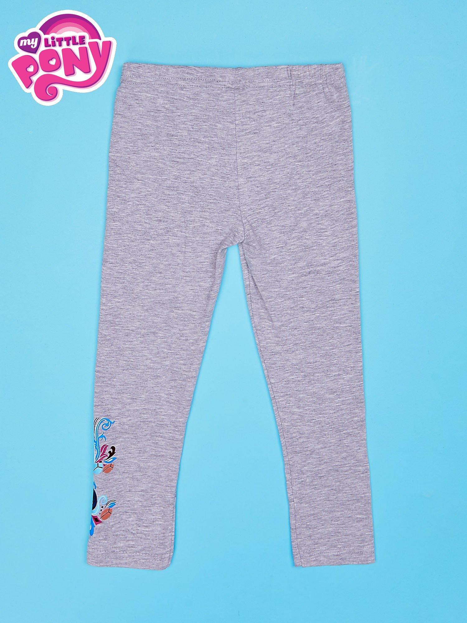 Szare legginsy dla dziewczynki MY LITTLE PONY                                  zdj.                                  2