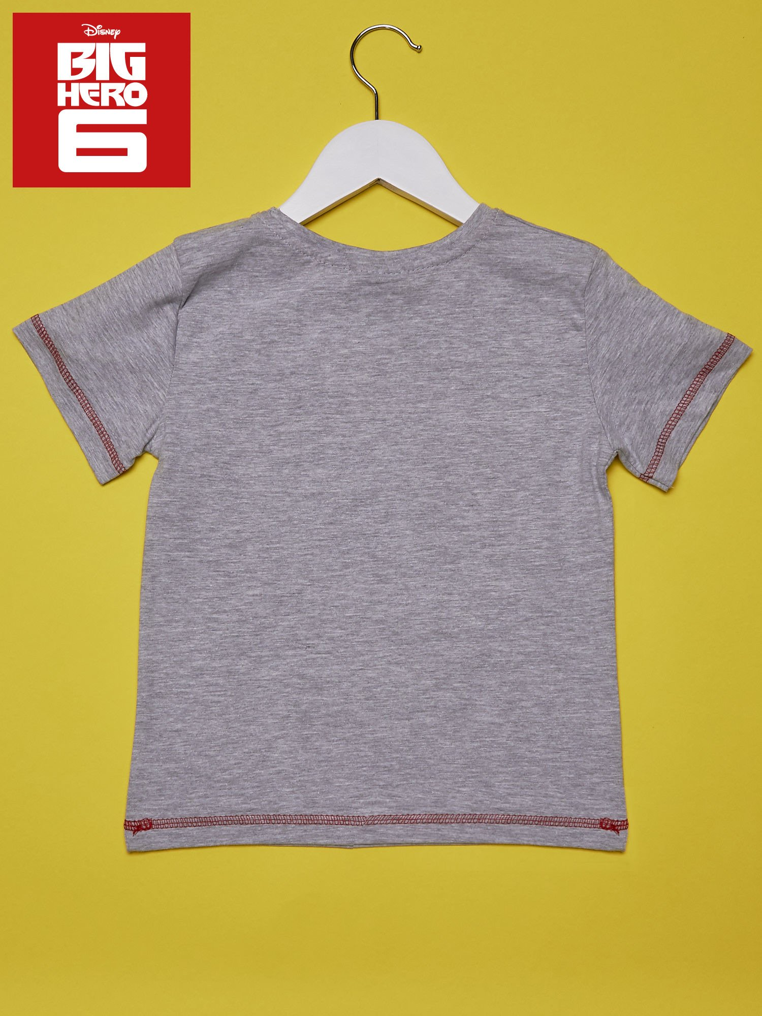 Szary t-shirt chłopięcy WIELKA SZÓSTKA                                  zdj.                                  2