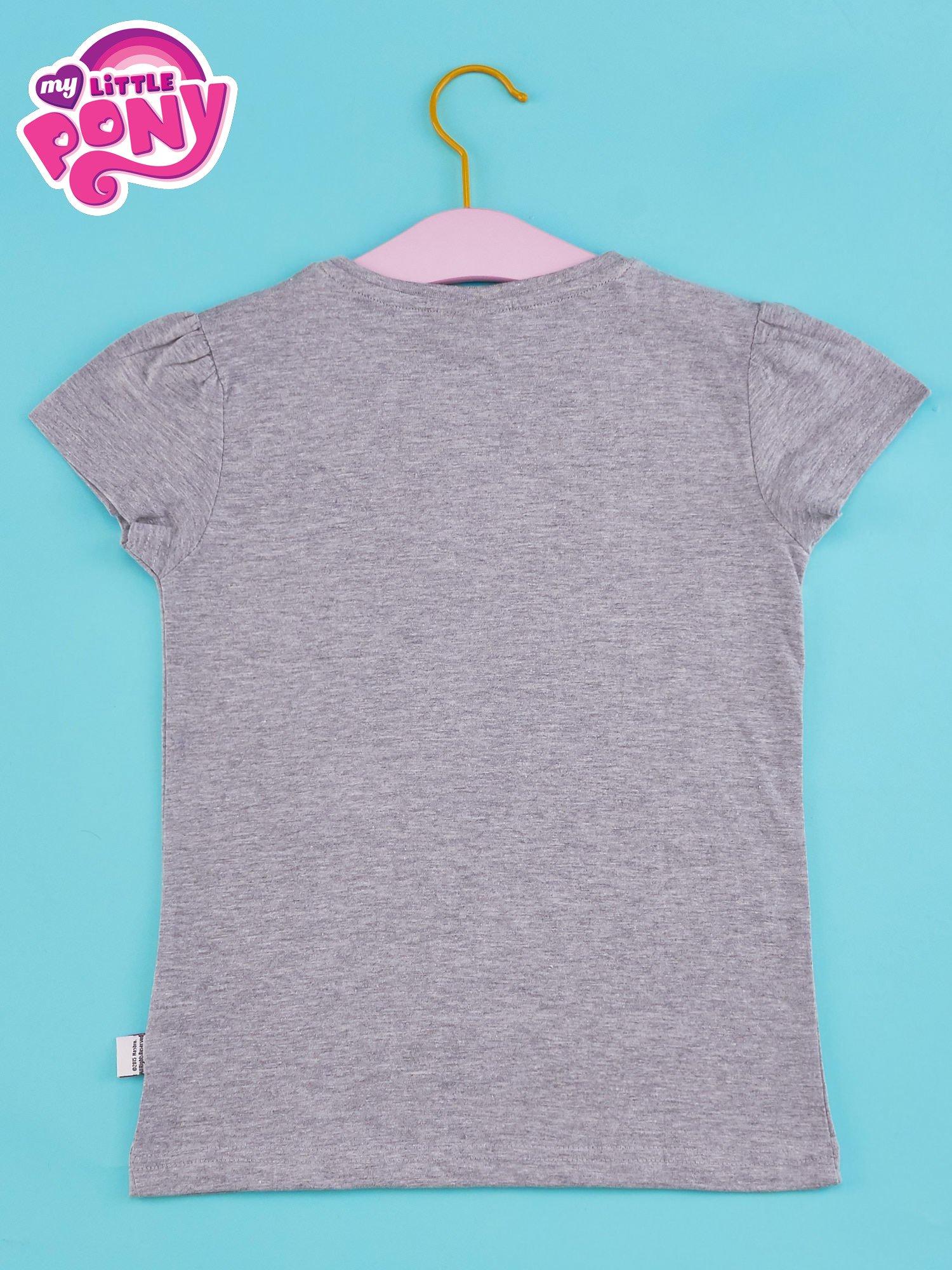 Szary t-shirt dla dziewczynki MY LITTLE PONY                                  zdj.                                  2