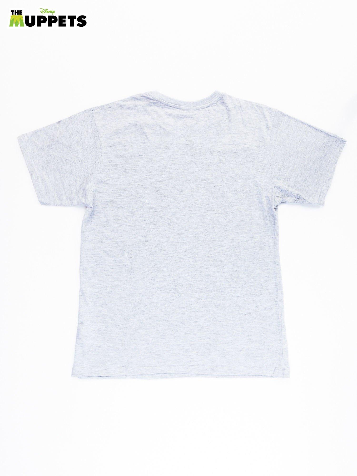 Szary t-shirt męski THE MUPPETS                                  zdj.                                  2